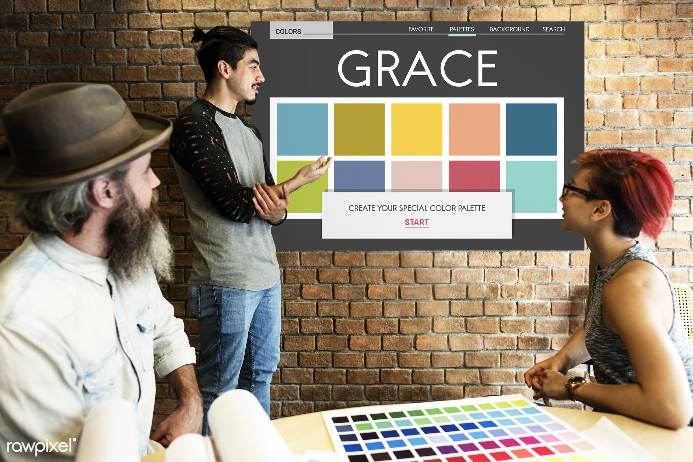 art, be creative, beard, board, brick wall, catalog, chart, color chart, color inspiration, coloring, colors, colour,...