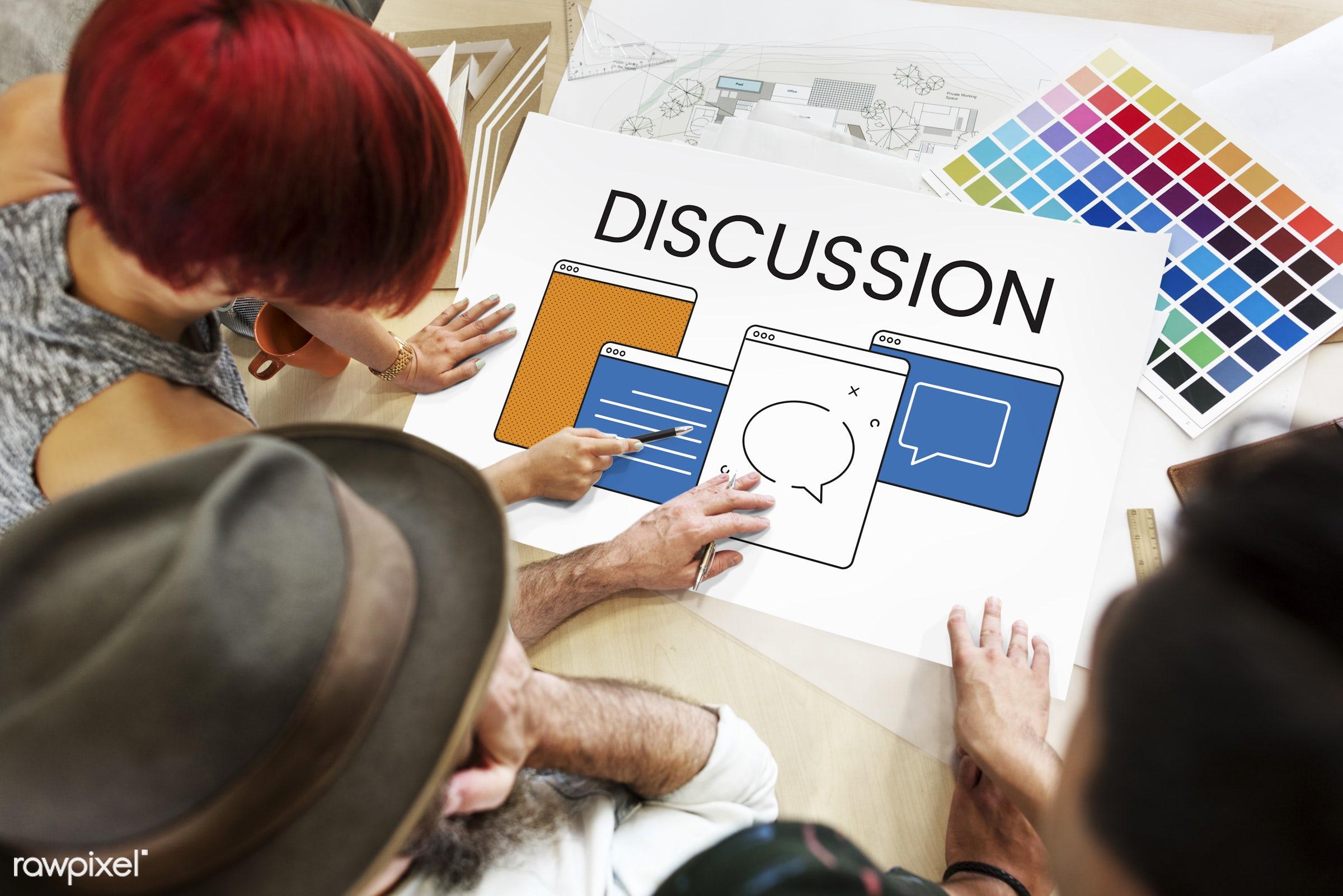 agreement, answers, art, business, chat, color chart, colors, communication, connection, conversation, design, dialogue,...