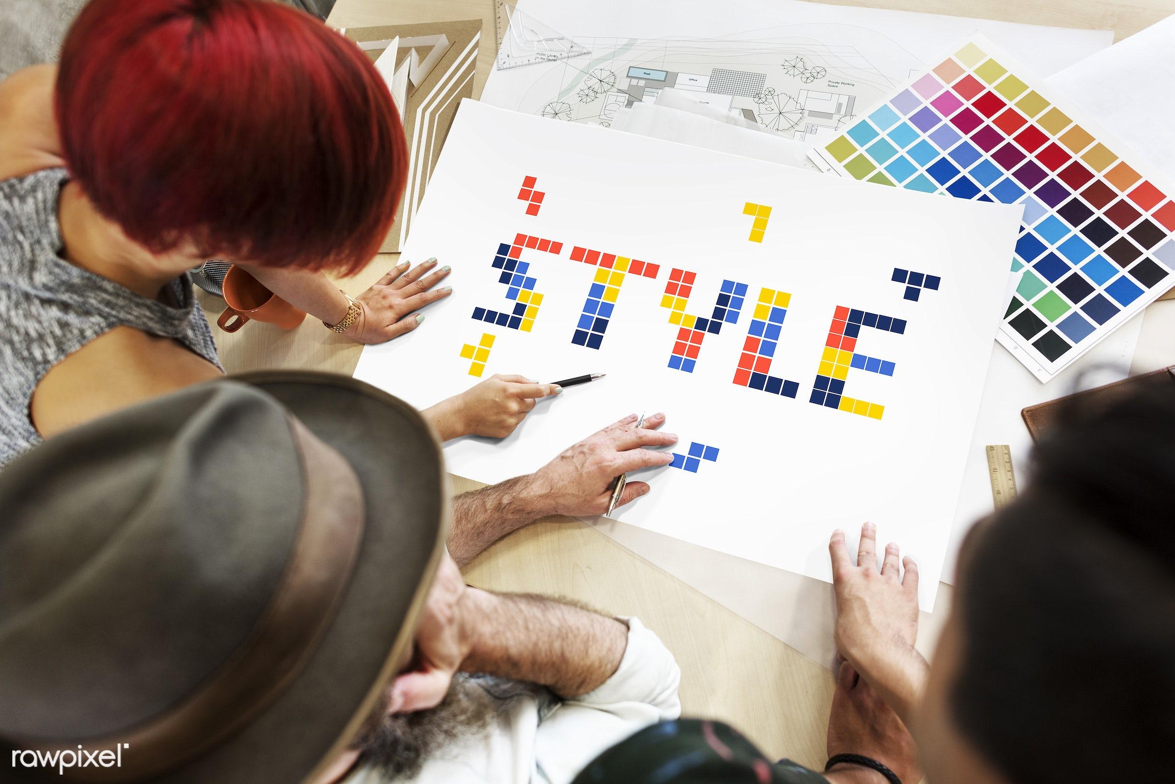 8 bit, art, artistry, block, color chart, colors, creative, creativity, design, discussion, female, game, graphic, graphics...