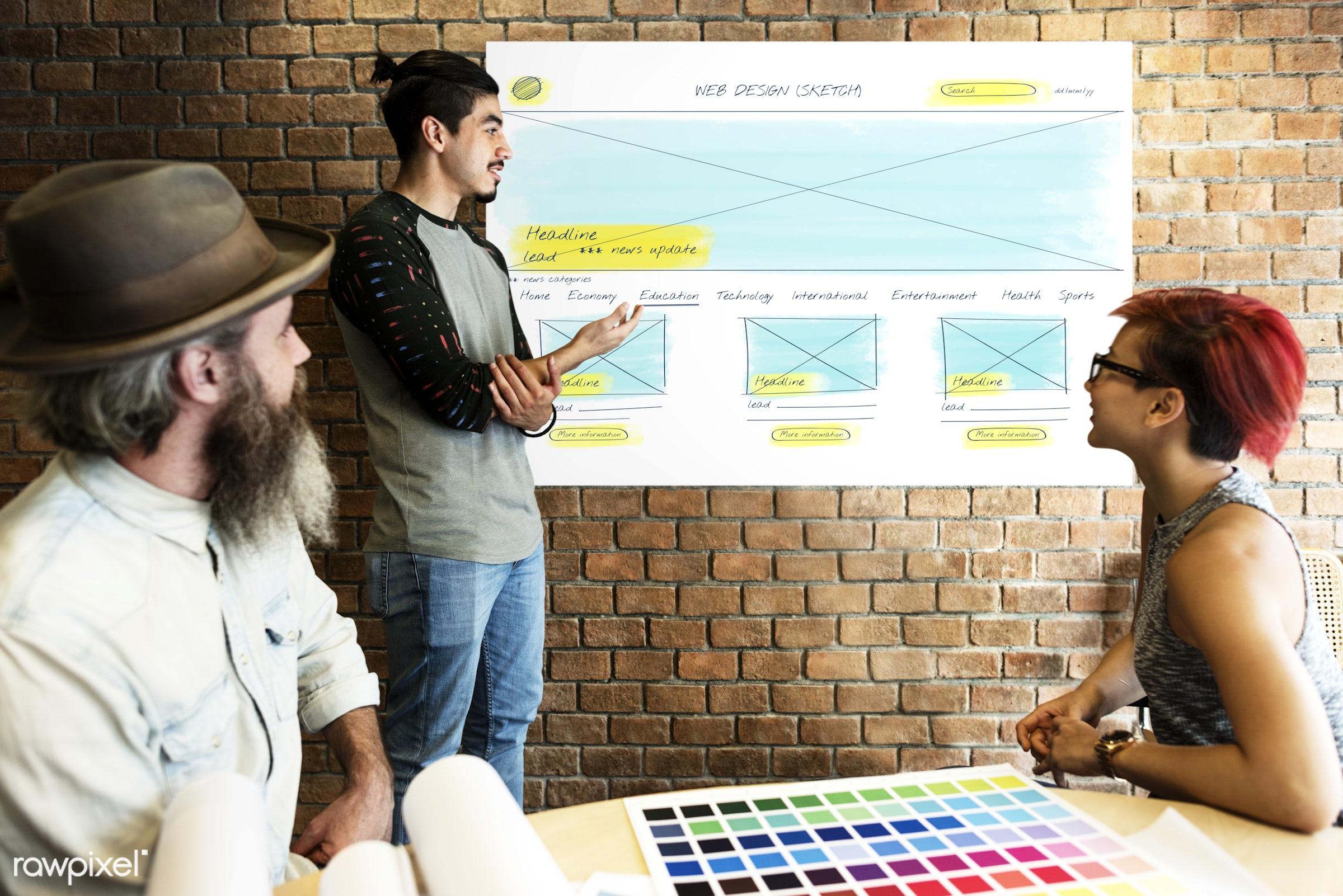 art, beard, board, brick wall, chart, color chart, colors, control, data, design, developer, development, digital,...