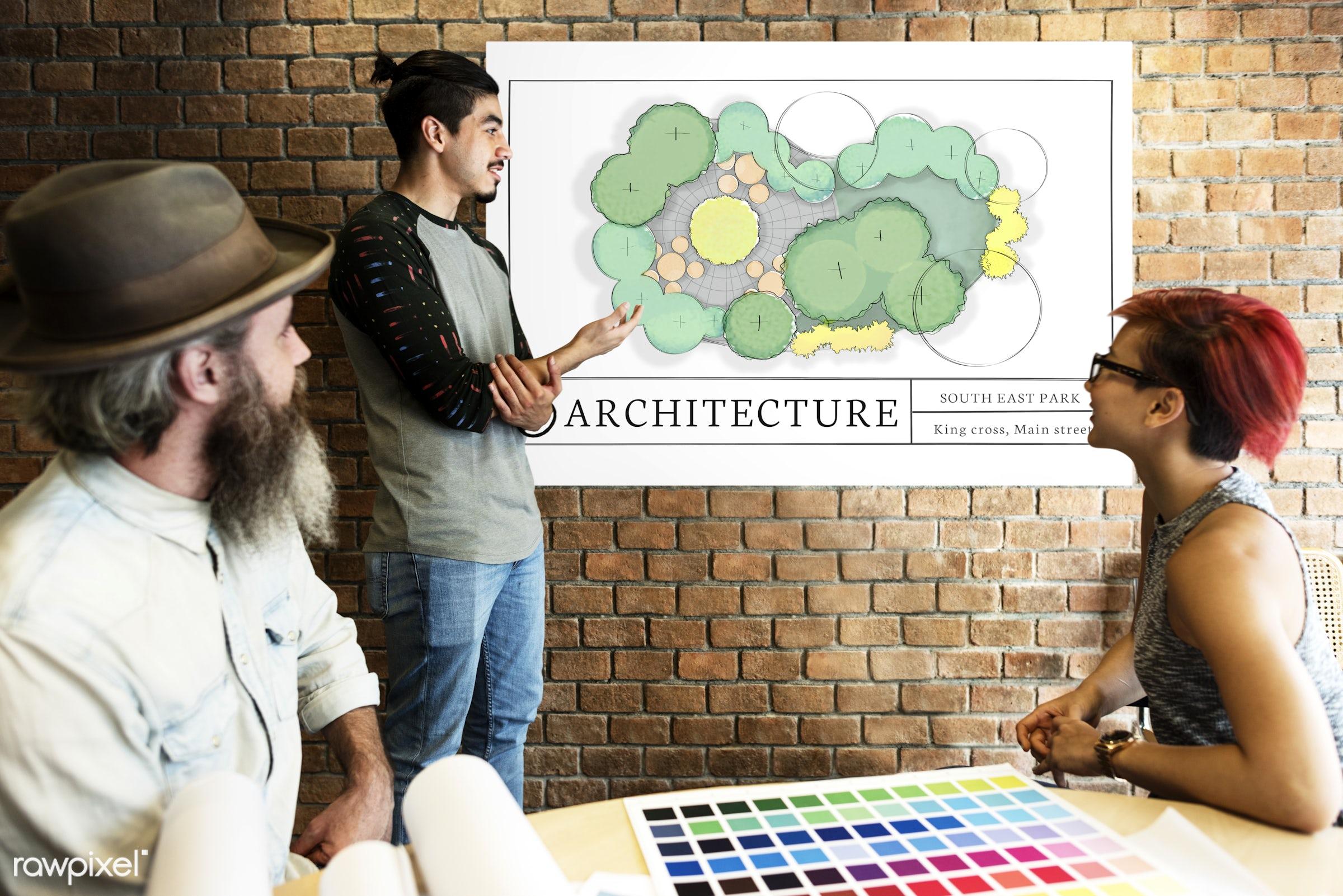 architecture, art, beard, board, brick wall, chart, color chart, colors, concept, control, creativity, data, design, diagram...