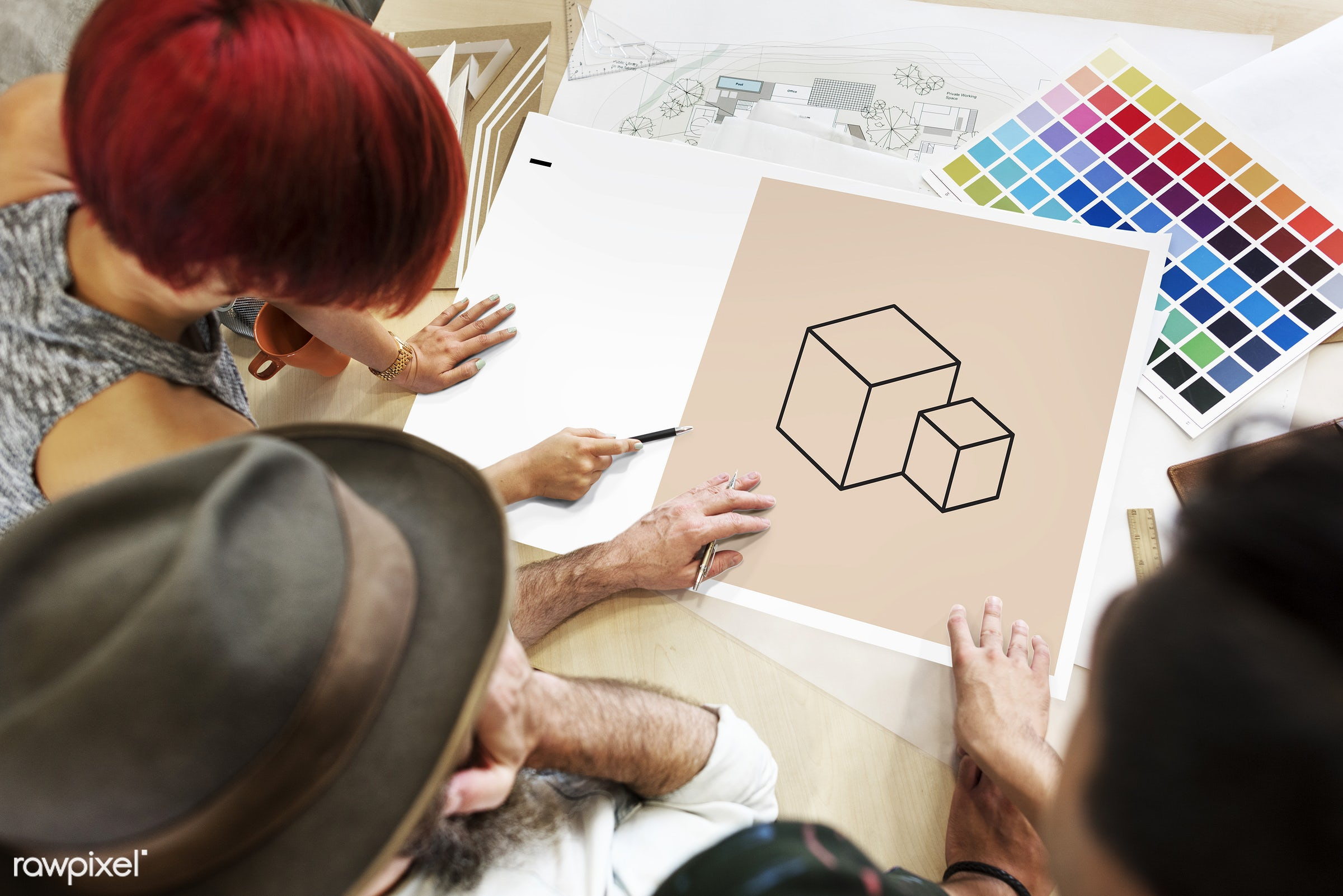 art, artistic, color chart, colors, creative, creativity, design, discussion, draw, drawing, female, graphics, hands, icon,...
