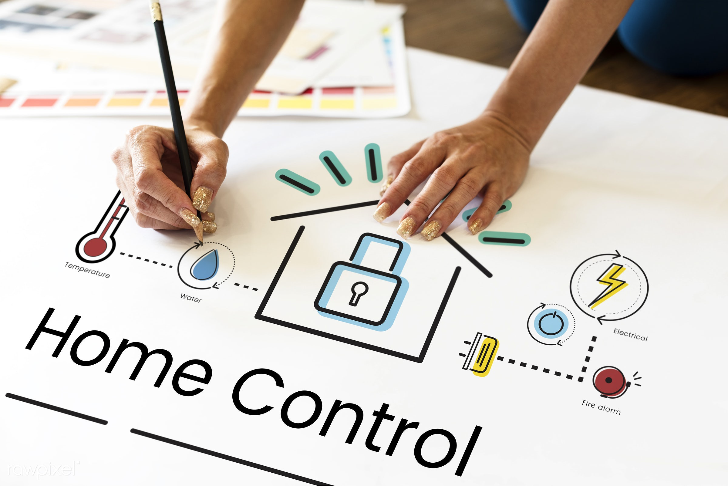 art, automation, control, creation, creative, creativity, design, drawing, graphic, hands, home, home automation, home...