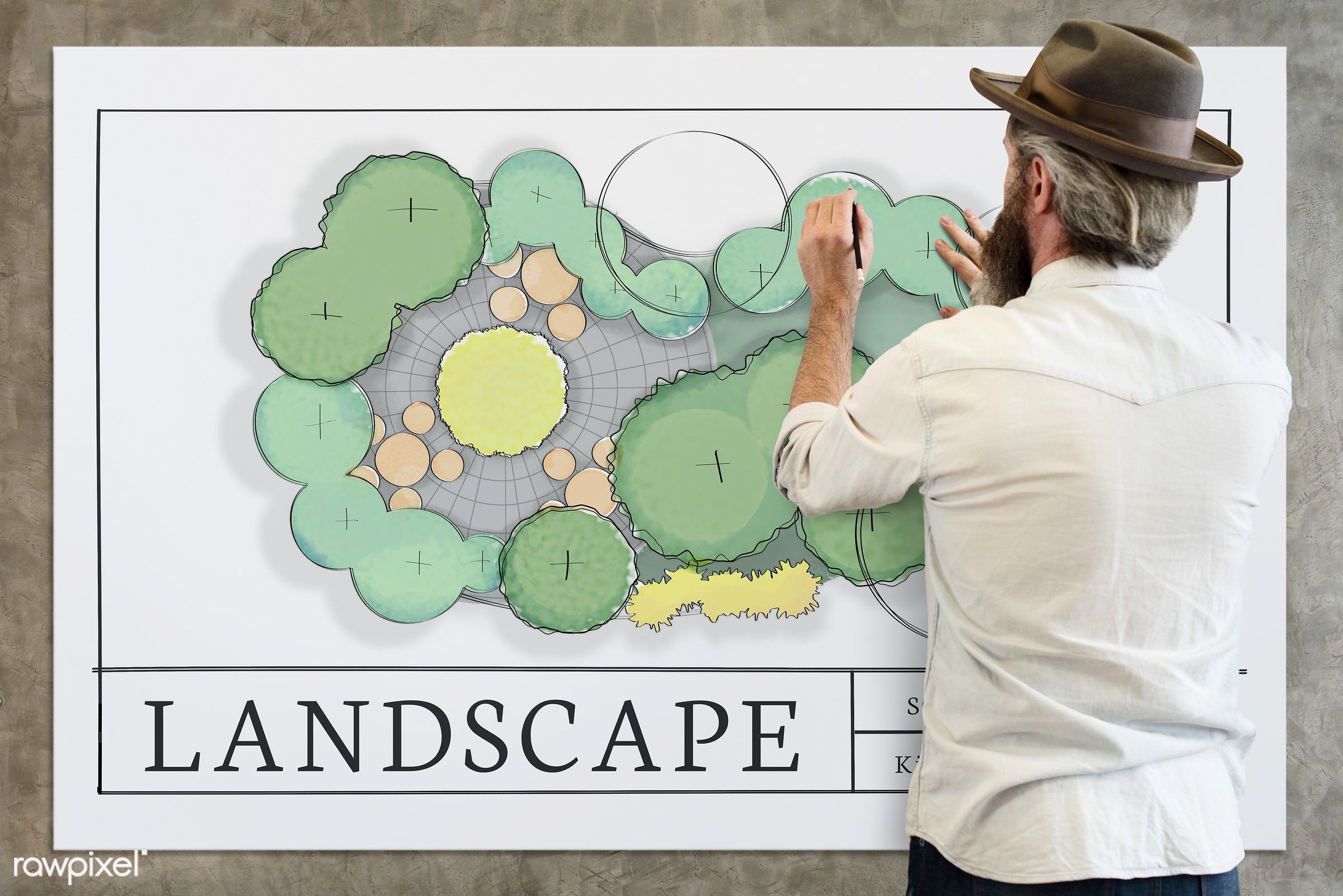 Landscape - adult, alone, architect, architecture, art, back, be creative, beard, beard guy, blueprint, board, carefree,...
