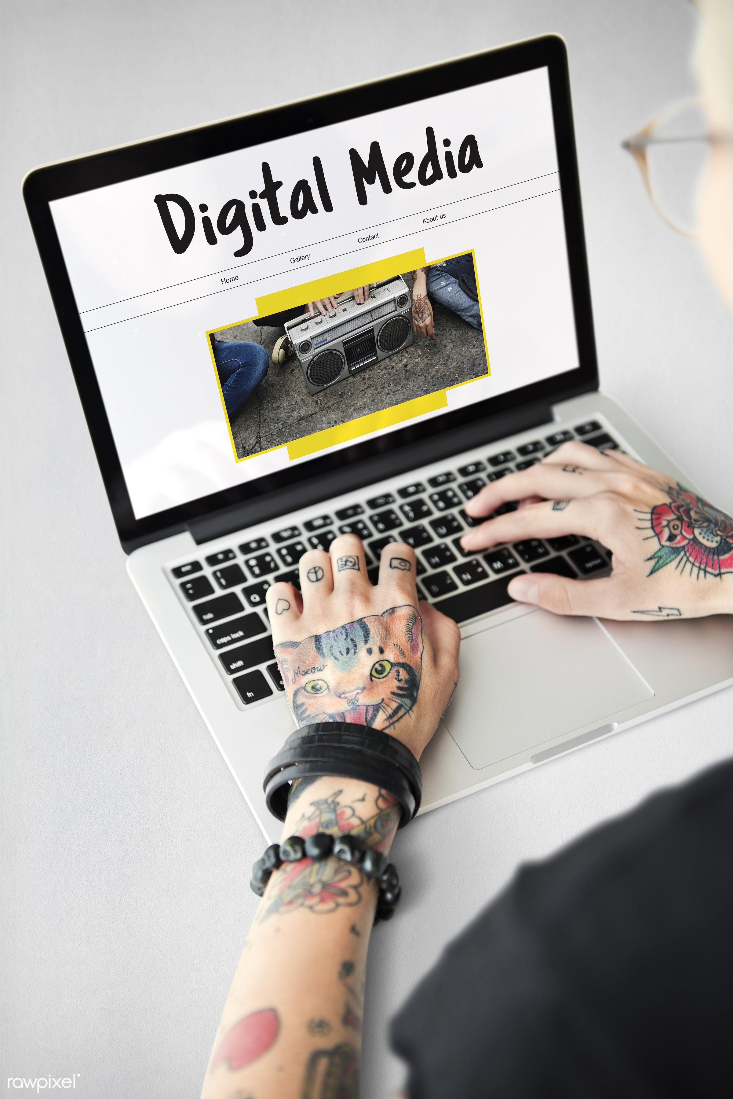 adult, arm, art, articles, body paint, bracelet, broadcast, caucasian, connection, data, device, digital, digital media,...