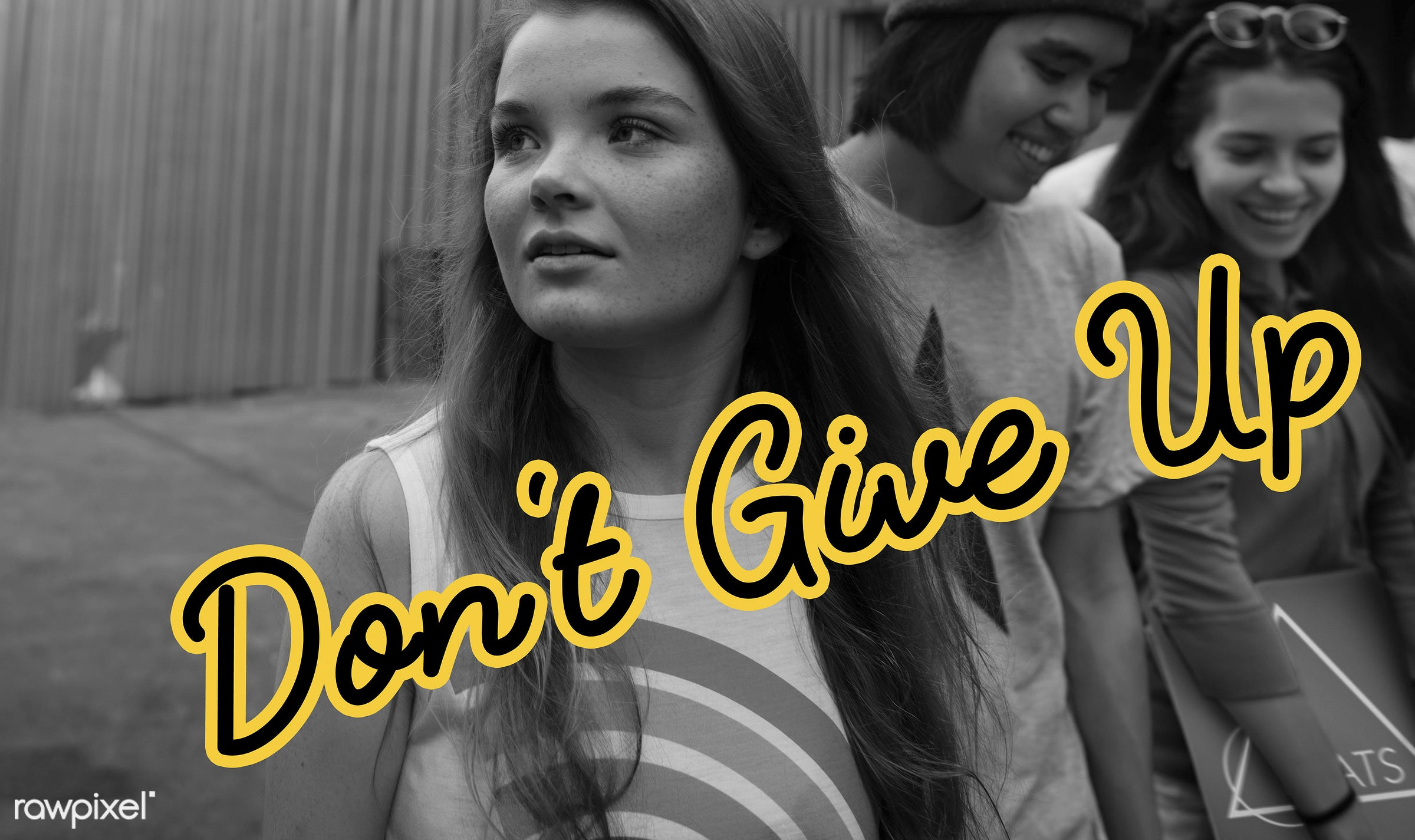 Don't give up - asian, enjoyment, friends, fun, group, hangout, lifestyle, looking, men, outdoors, people, person, teenagers...