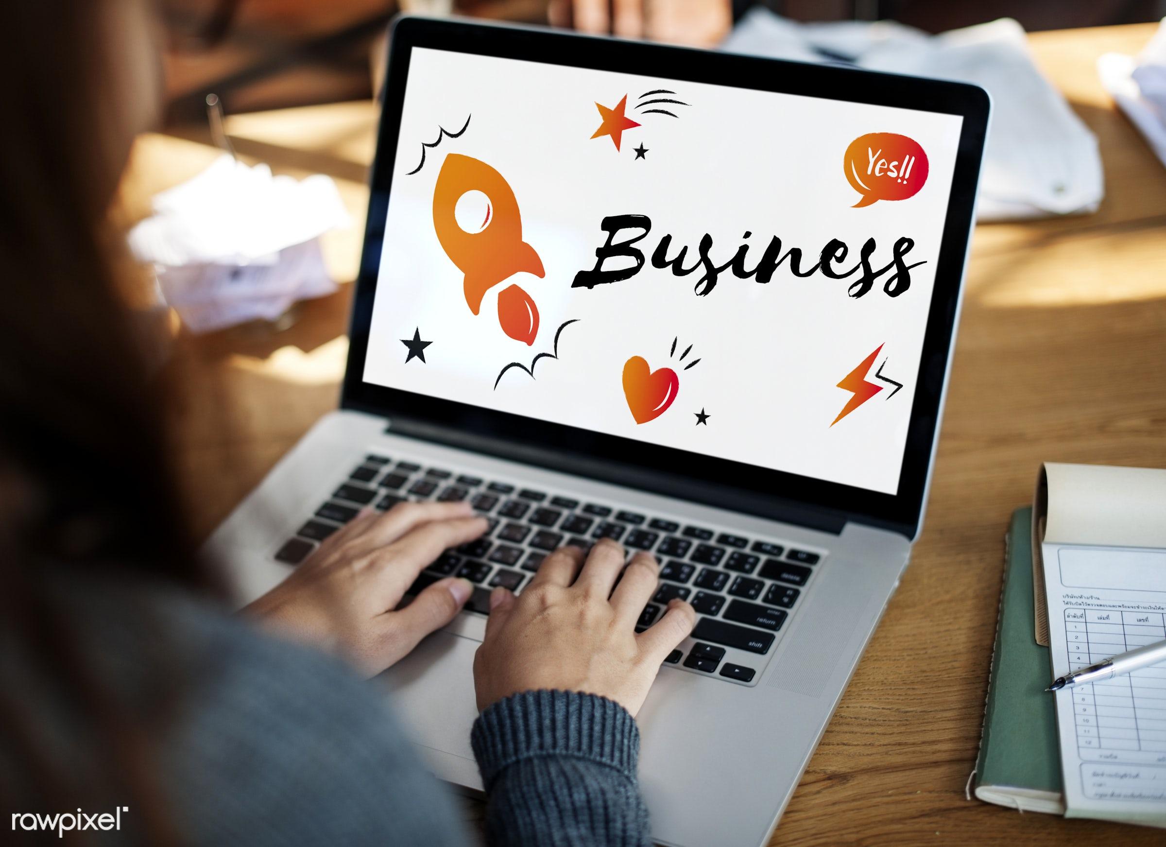 aspirations, browsing, business, business plan, creative, development, device, digital, digital device, enterprise, hands,...