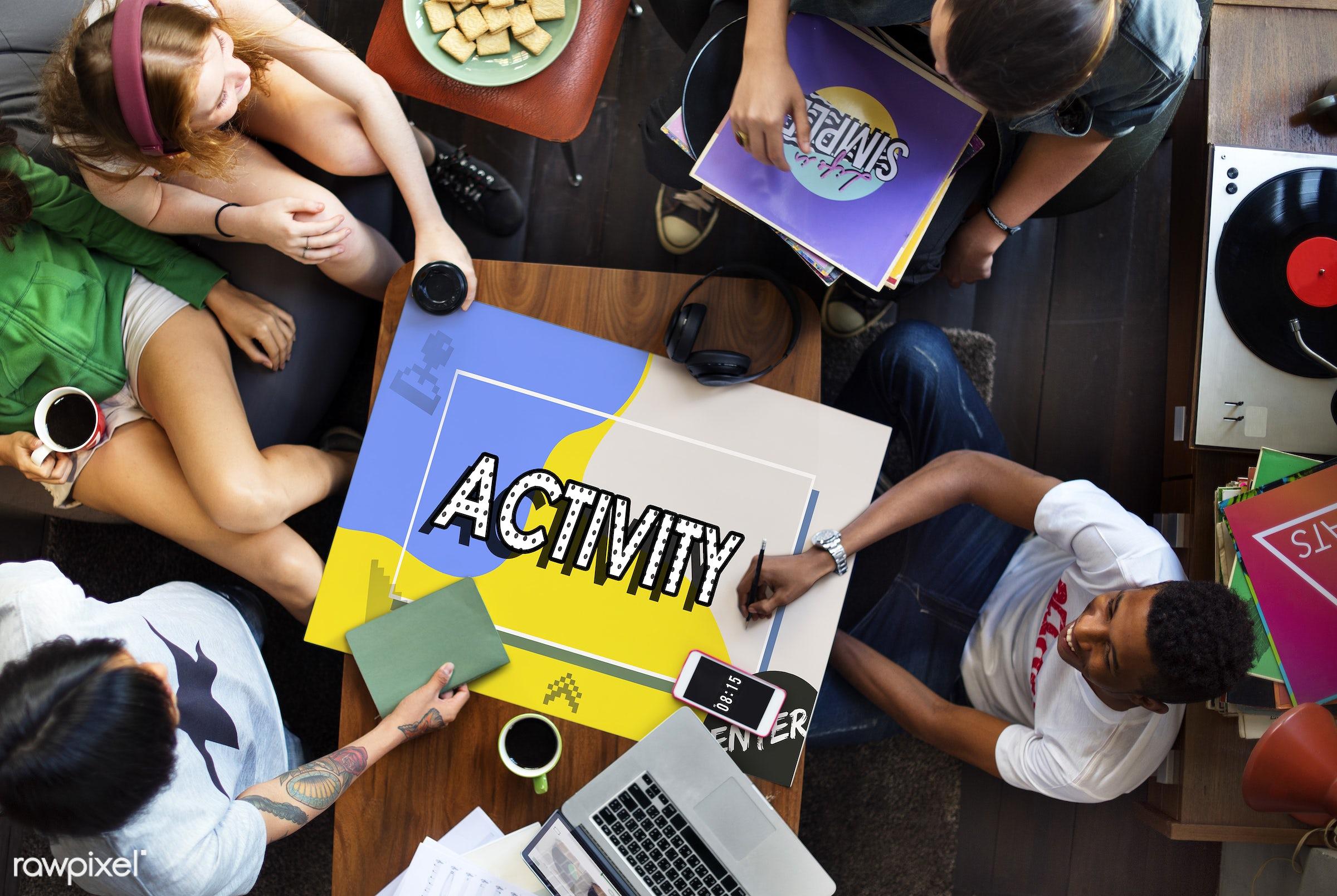 activity, addiction, african descent, asian, caucasian, console, control, controller, dependency, diversity, enjoyment,...