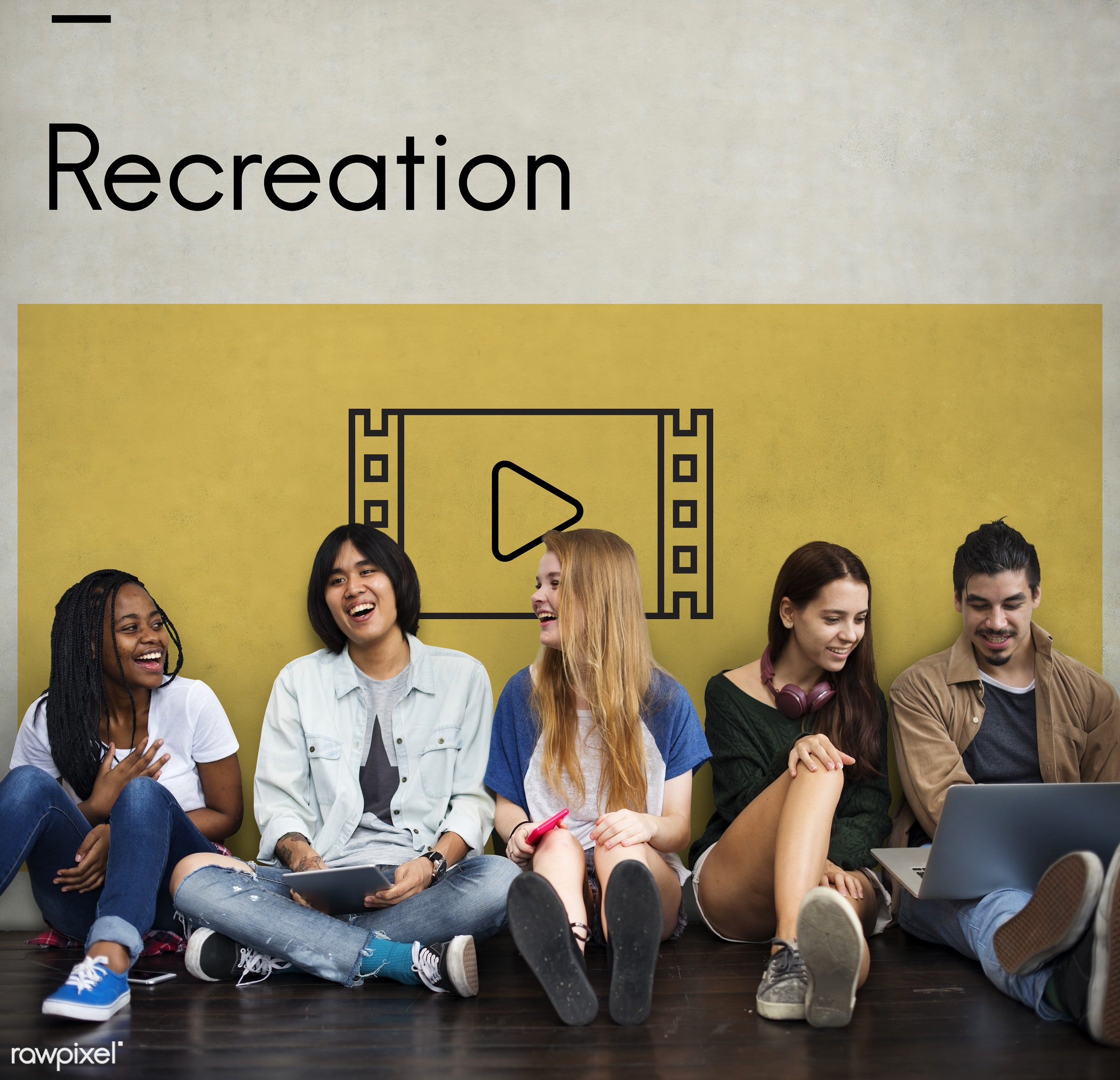 african descent, asian, caucasian, cinema, devices, digital devices, diversity, enjoyment, entertainment, film, filmstrip,...
