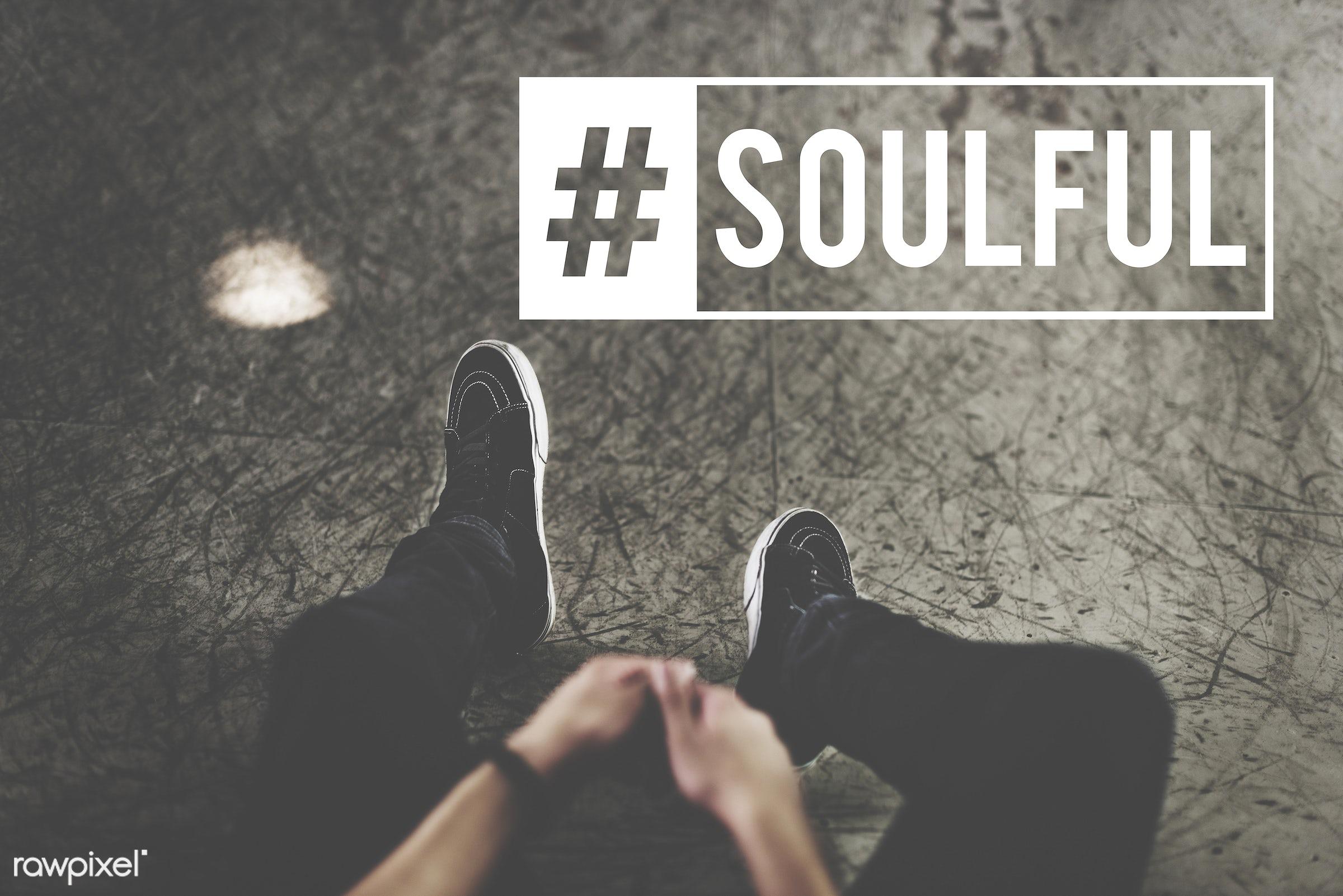 attitude, balance, black, black jeans, black tee, cement, cement floor, emotional, energy, fitness, floor, guy, harmony,...