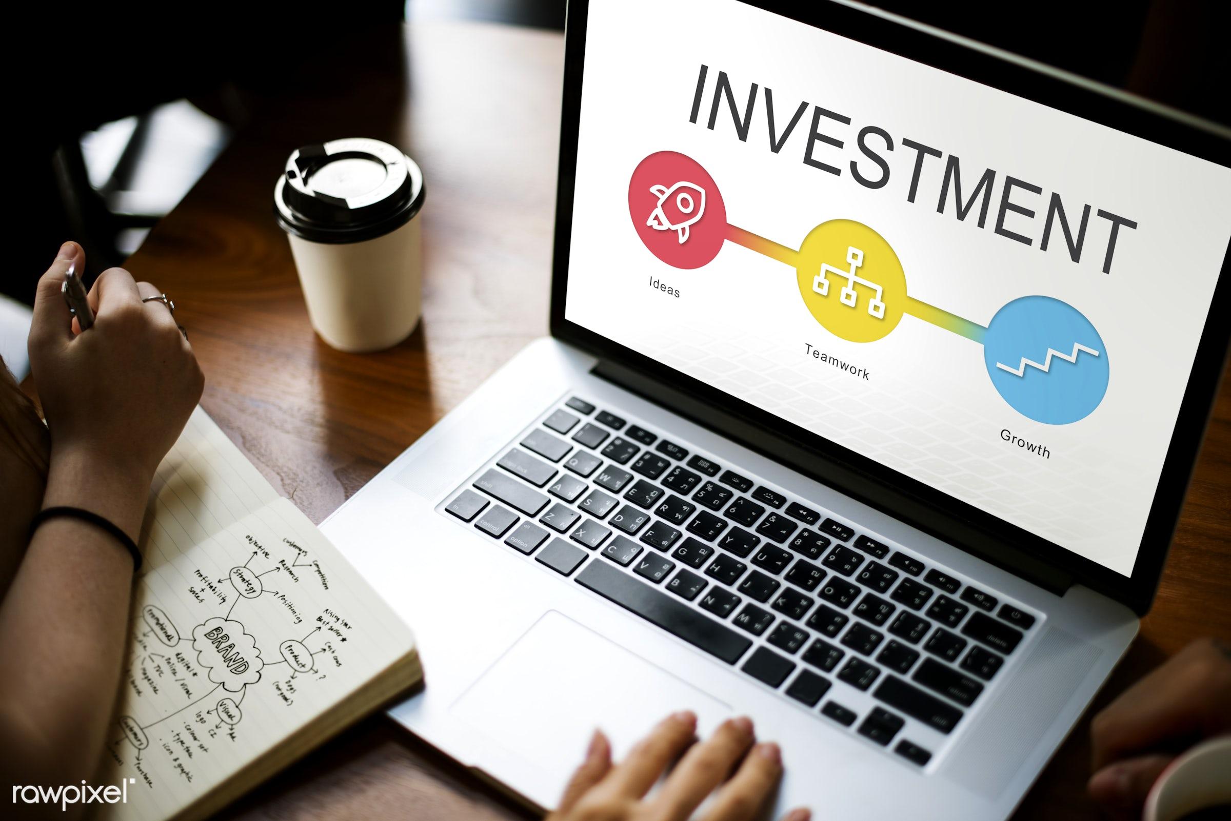 rocket, browsing, business, capital, coffee cup, development, device, digital, digital device, entrepreneur, execution,...