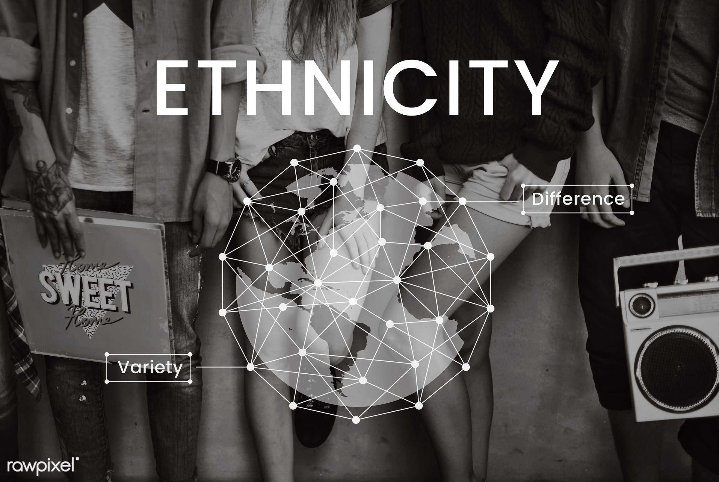 african descent, asian, audio, business, caucasian, cloud, community, control, data, database, difference, digital,...