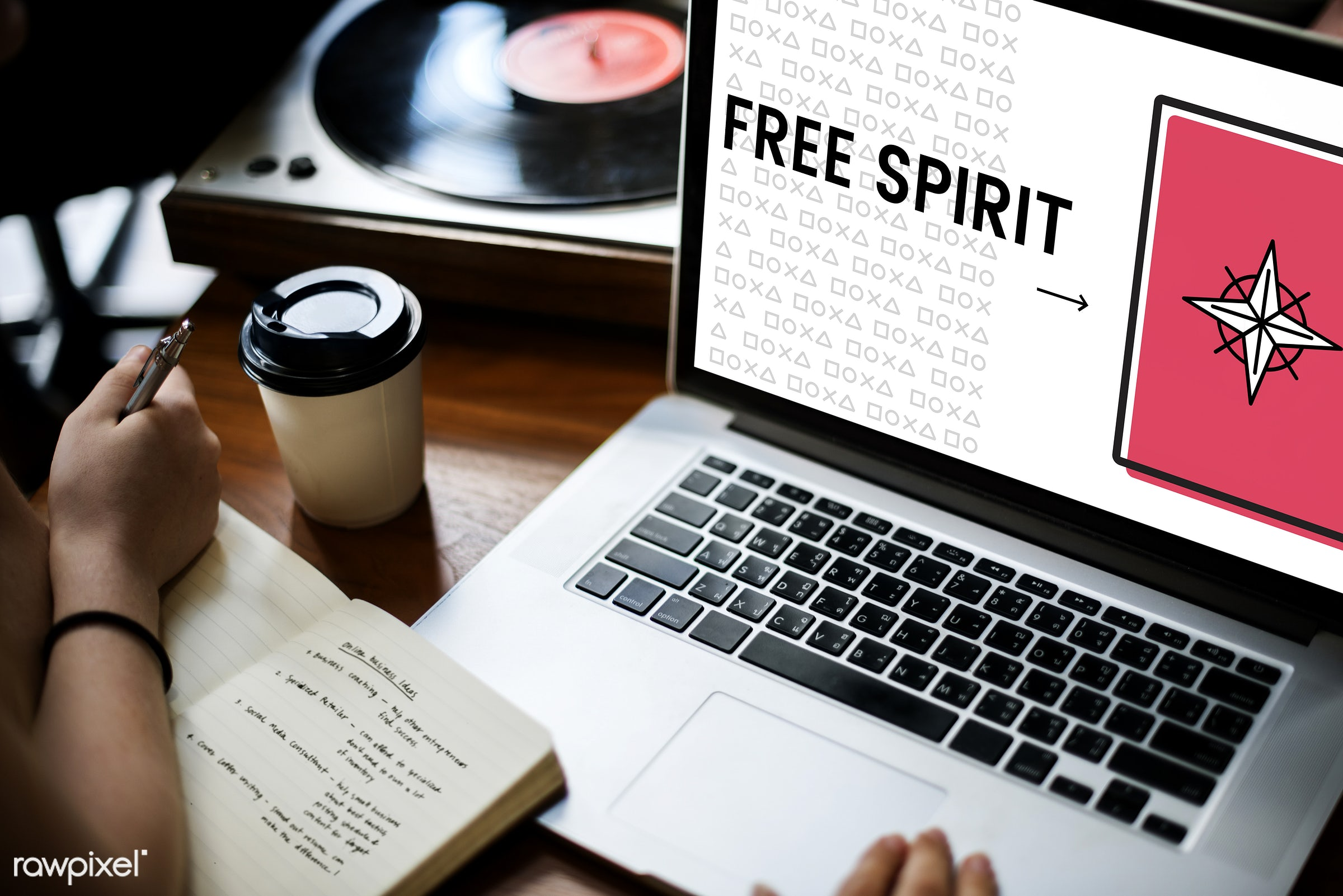 browsing, chill, coffee cup, concept, control, creative, device, digital, digital device, fashion, free spirit, freedom,...