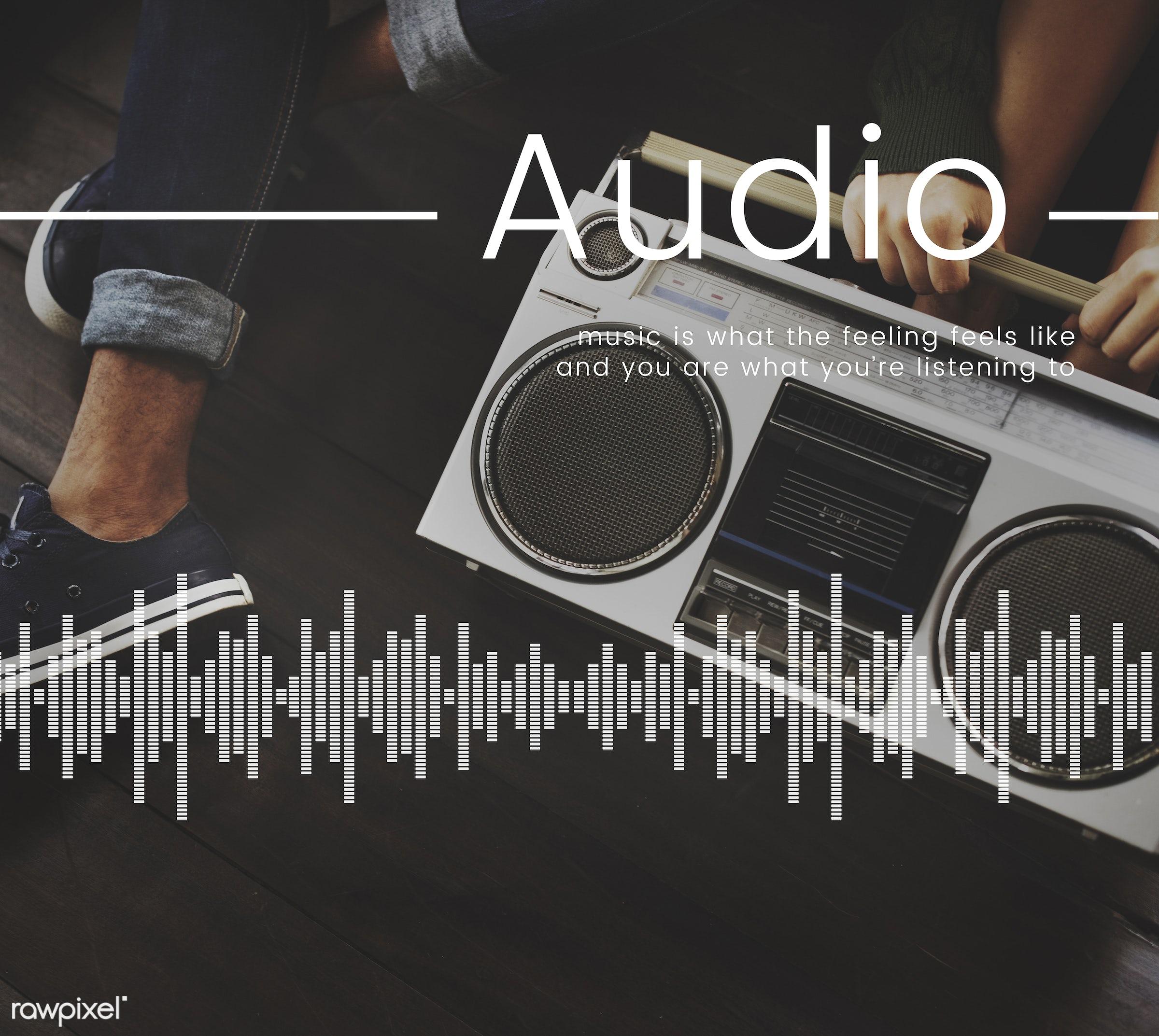 radio, acoustic, audio, broadcast, chilling, enjoyment, entertain, entertainment, genres, gifteye, graphic, icon,...