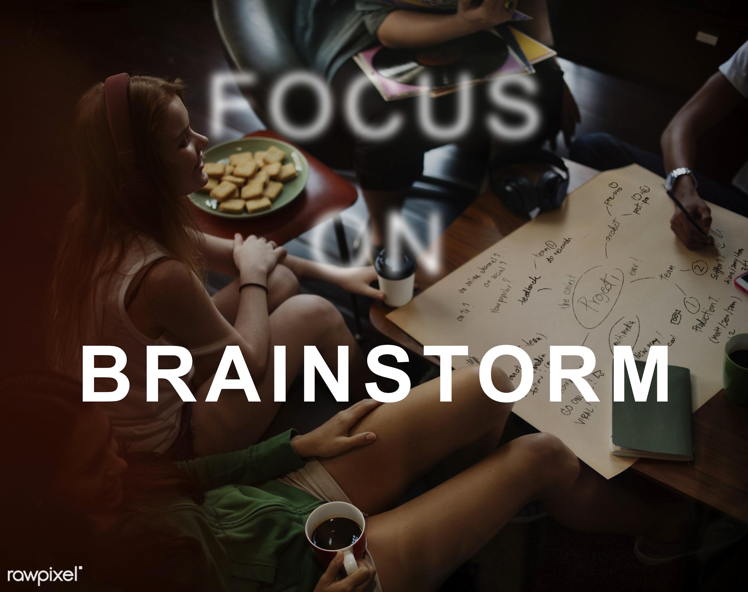 caucasian, african descent, analysis, analyze, asian, brain, brainstorm, brainstorming, business, business strategy,...