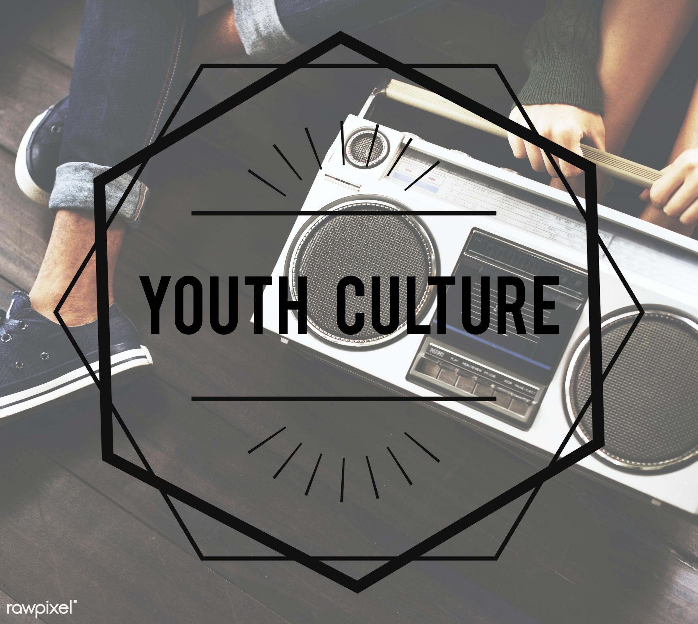 typography, audio, badges, border, chilling, decoration, design, elements, enjoyment, entertain, entertainment, font,...