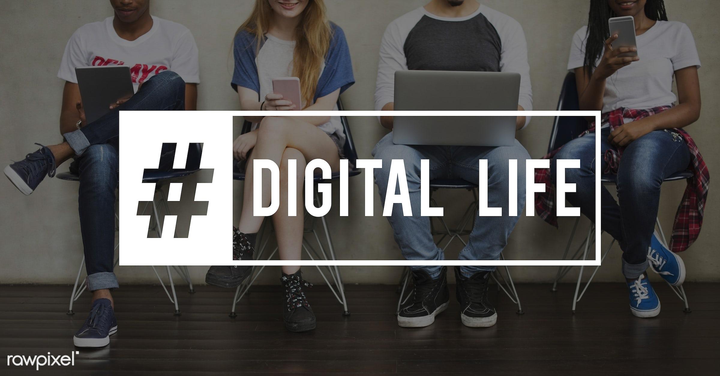 cellphone, data, server, virtual, african descent, asian, business, caucasian, cloud, communication, connection, database,...