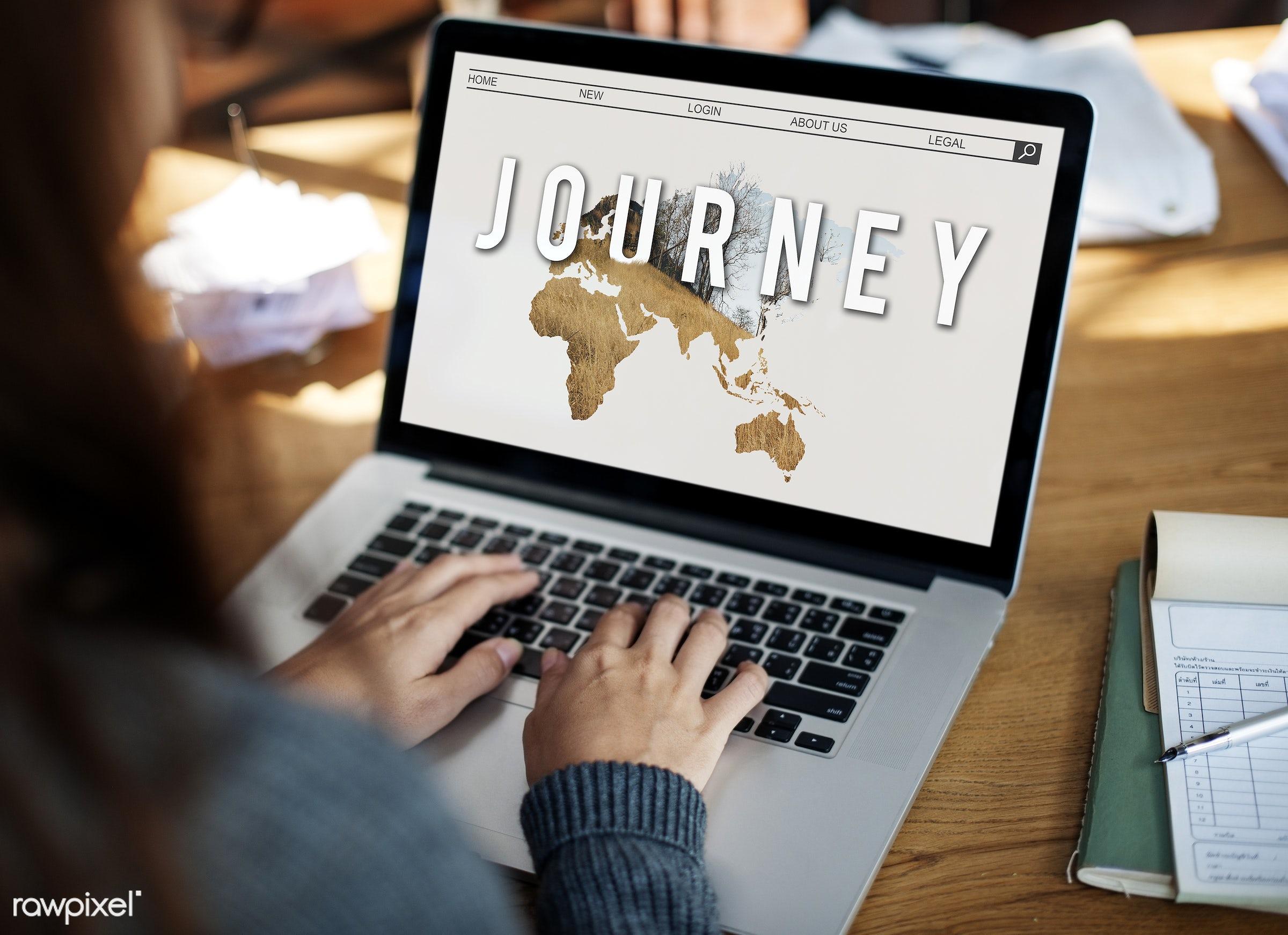 adventure, browsing, design, destination, device, digital, digital device, directions, explore, global, graphic, hands,...