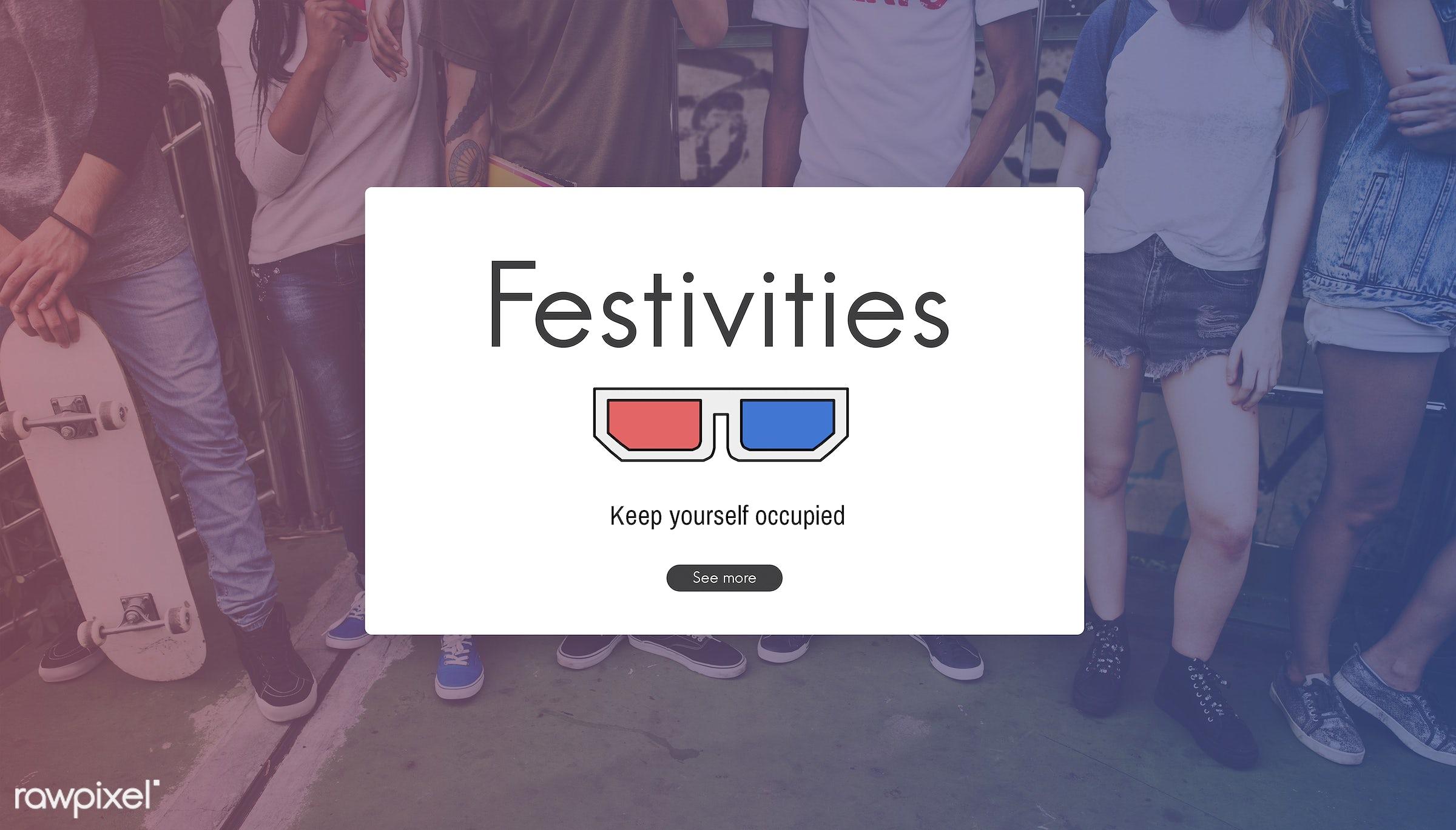activities, african descent, asian, caucasian, communication, digital media, diversity, enjoyment, entertain, entertainment...