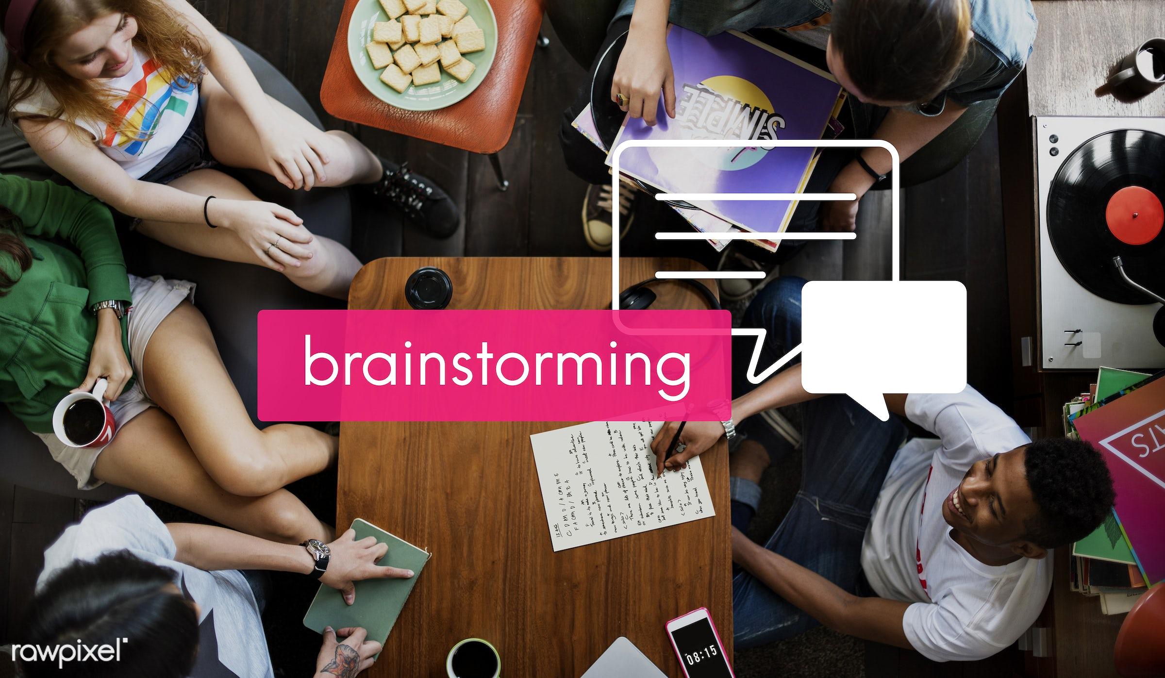 business, meeting, seminar, movement, internet, friendship, youth, african descent, asian, brainstorming, caucasian,...