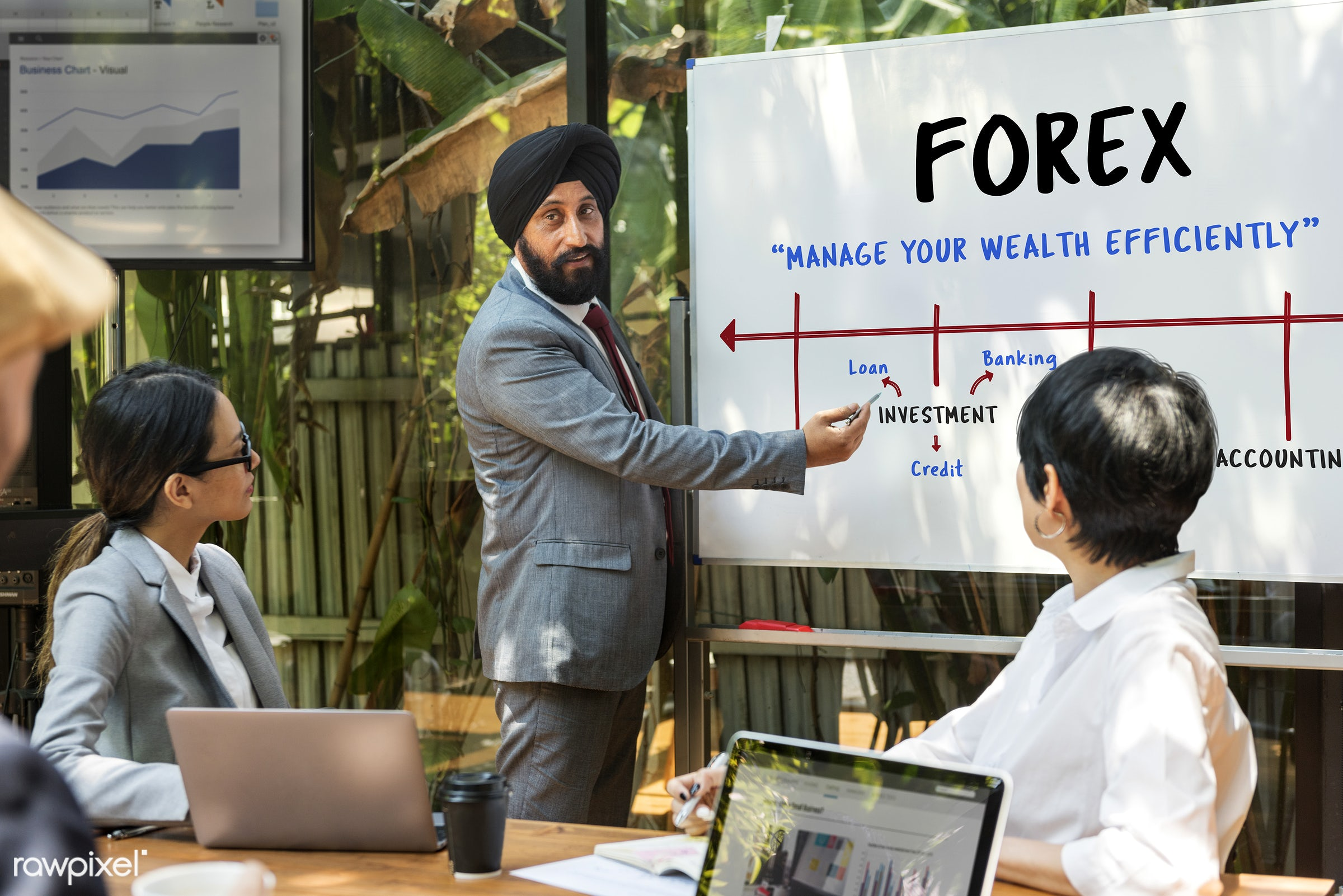 stock, asian, board, business, businessmen, businesswomen, caucasian, company, conference, currency, data, development,...