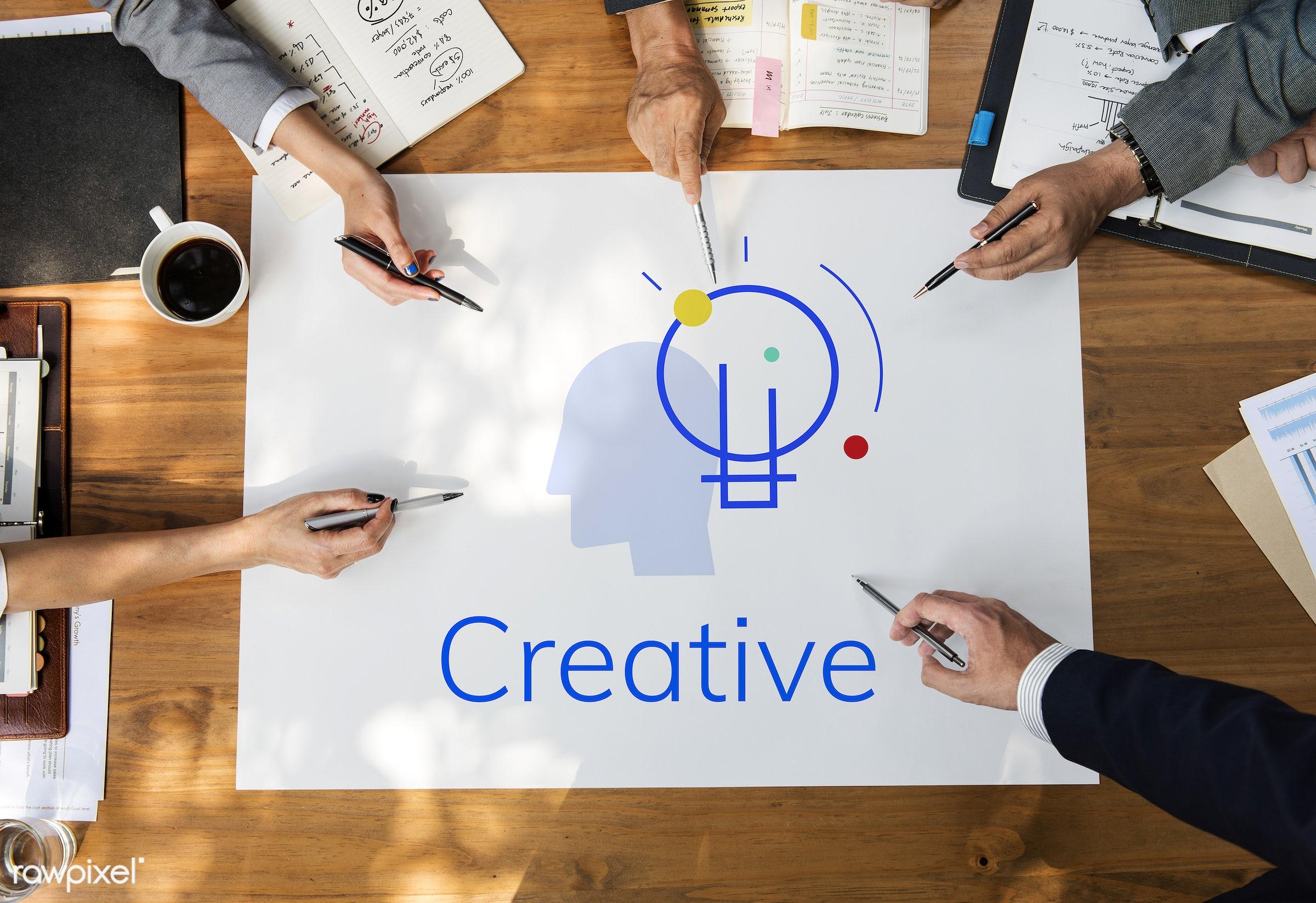 asian, attitude, brainstorm, brainstorming, business, businessmen, businesswomen, create, creative, creativity, devices,...