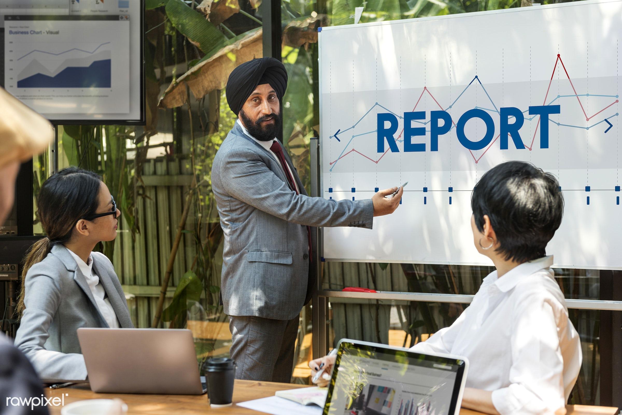 development, analysis, asian, board, business, businessmen, businesswomen, caucasian, conference, data, devices, digital,...