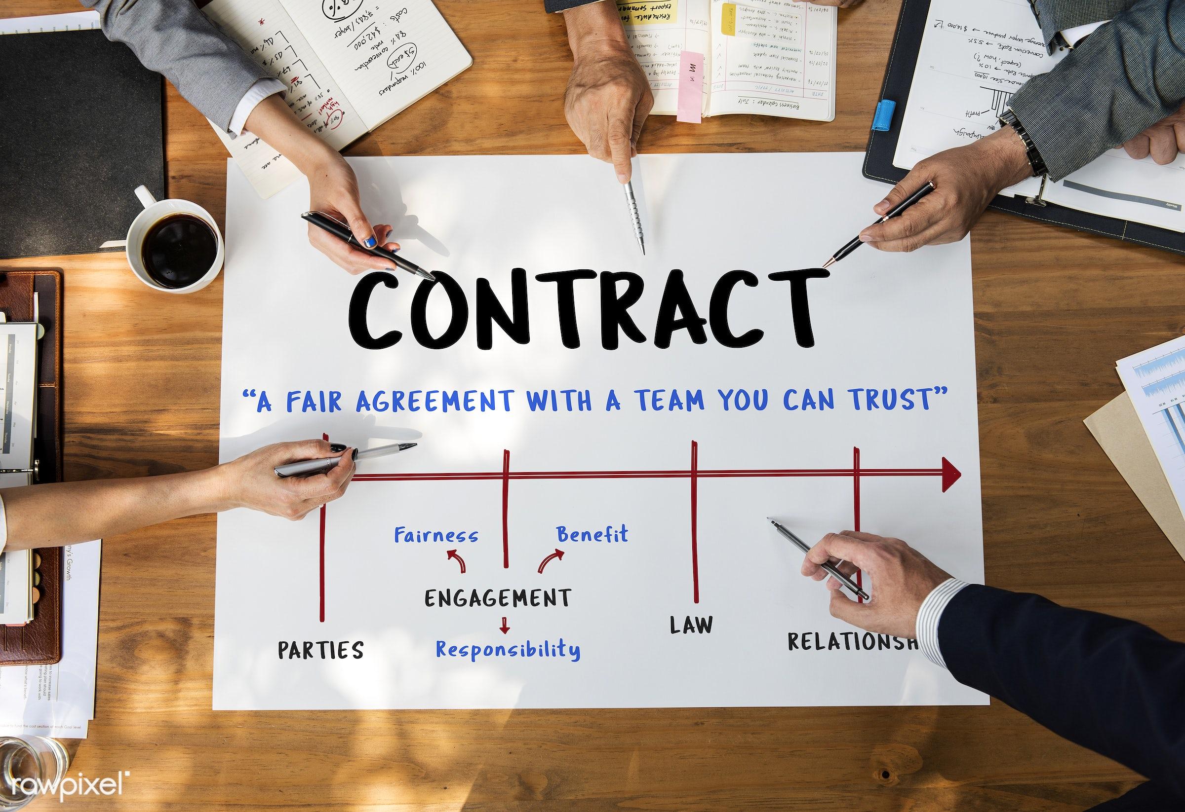 commitment, agreement, asian, binding, bond, brainstorming, business, businessmen, businesswomen, compromise, contract, deal...