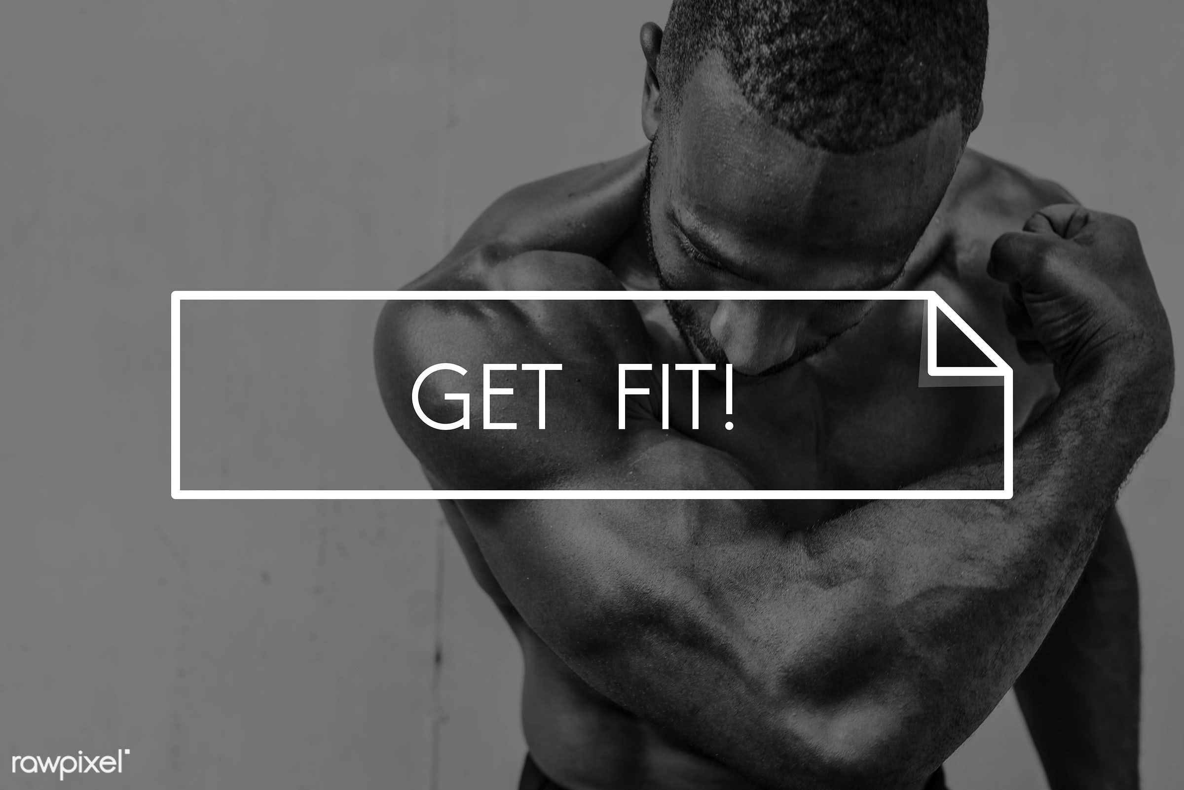 training, abs, adult, african descent, arms, be strong, biceps, body, body challenge, body matters, bodybuilder, build a...