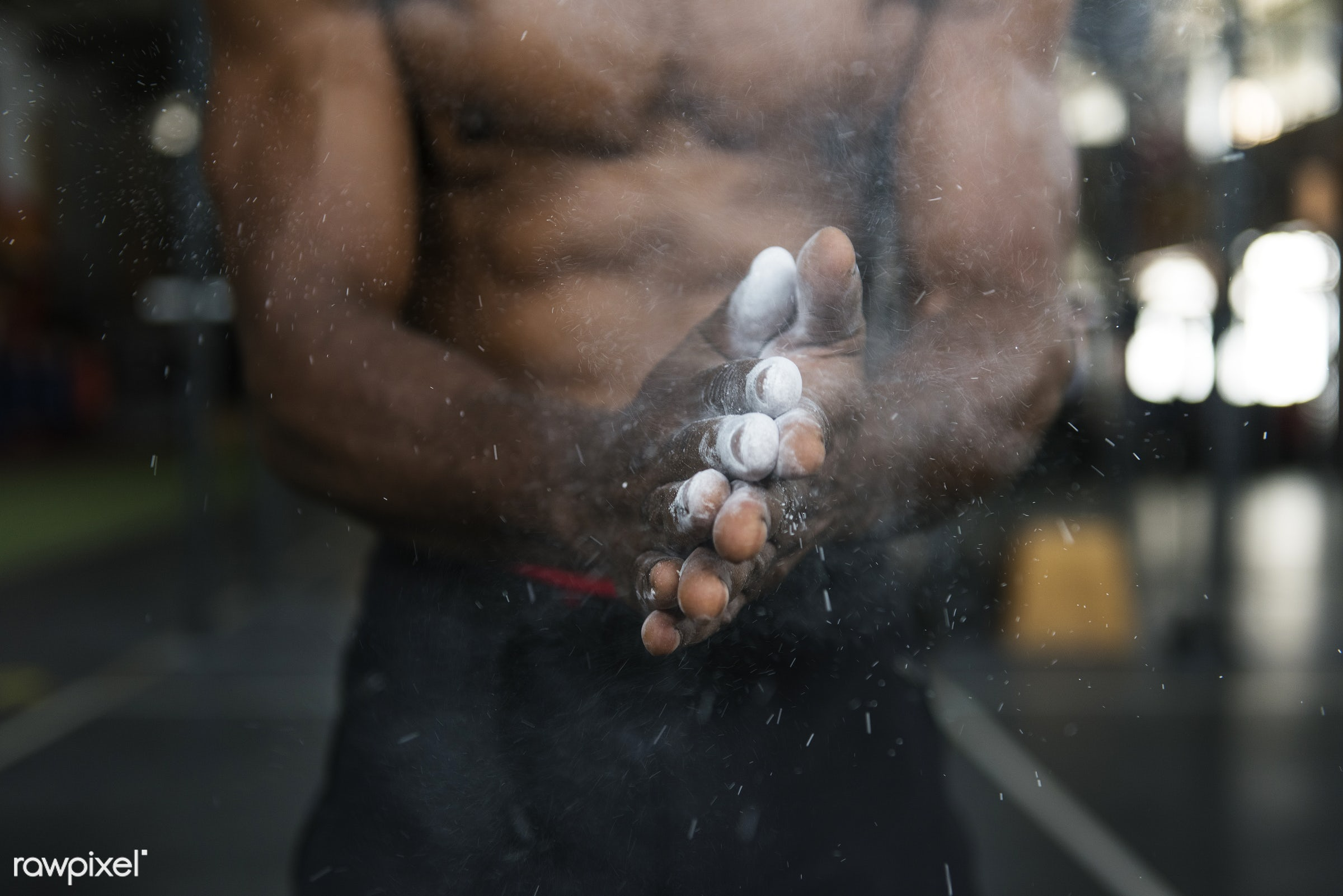 At the gym - active, activity, african descent, athlete, athletic, attractive, body, buff, fit, fitness, gym, handsome,...