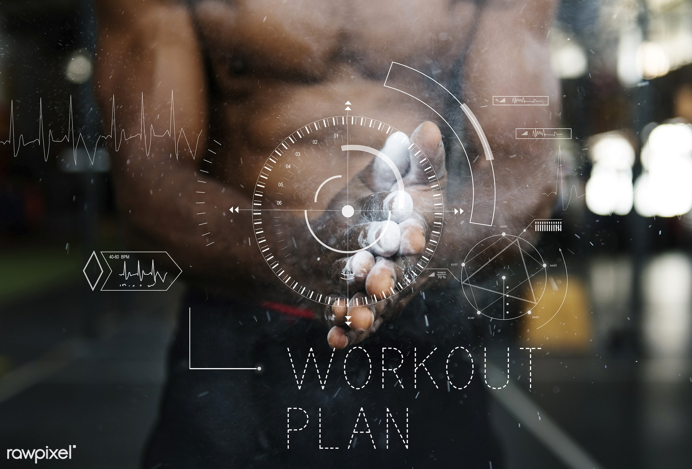 exercise, body, bodybuilding, clapping, condition, crosshair, daily, energy, fit, fitness, graphic, gym, gym equipment,...