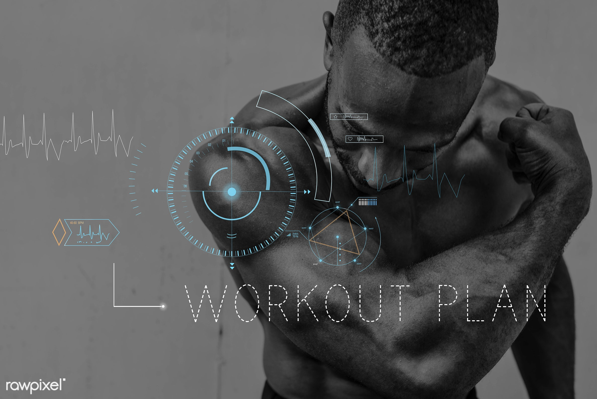 african descent, body, gym, word, abs, adult, arms, biceps, bodybuilder, condition, crosshair, daily, energy, exercise, fit...