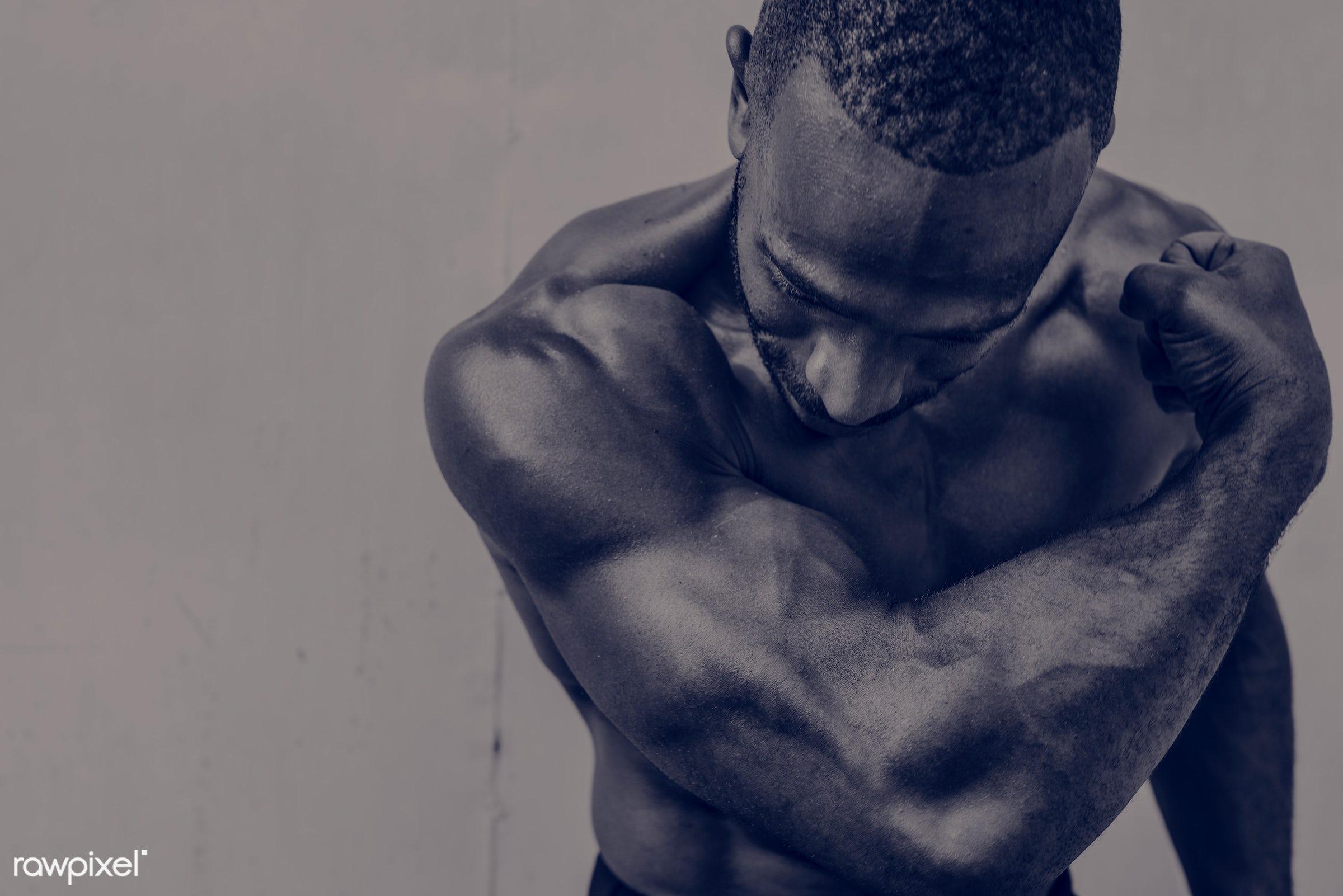 Active People Sport Workout Concept - achievement, active, activity, african descent, athlete, athletic, attractive, body,...