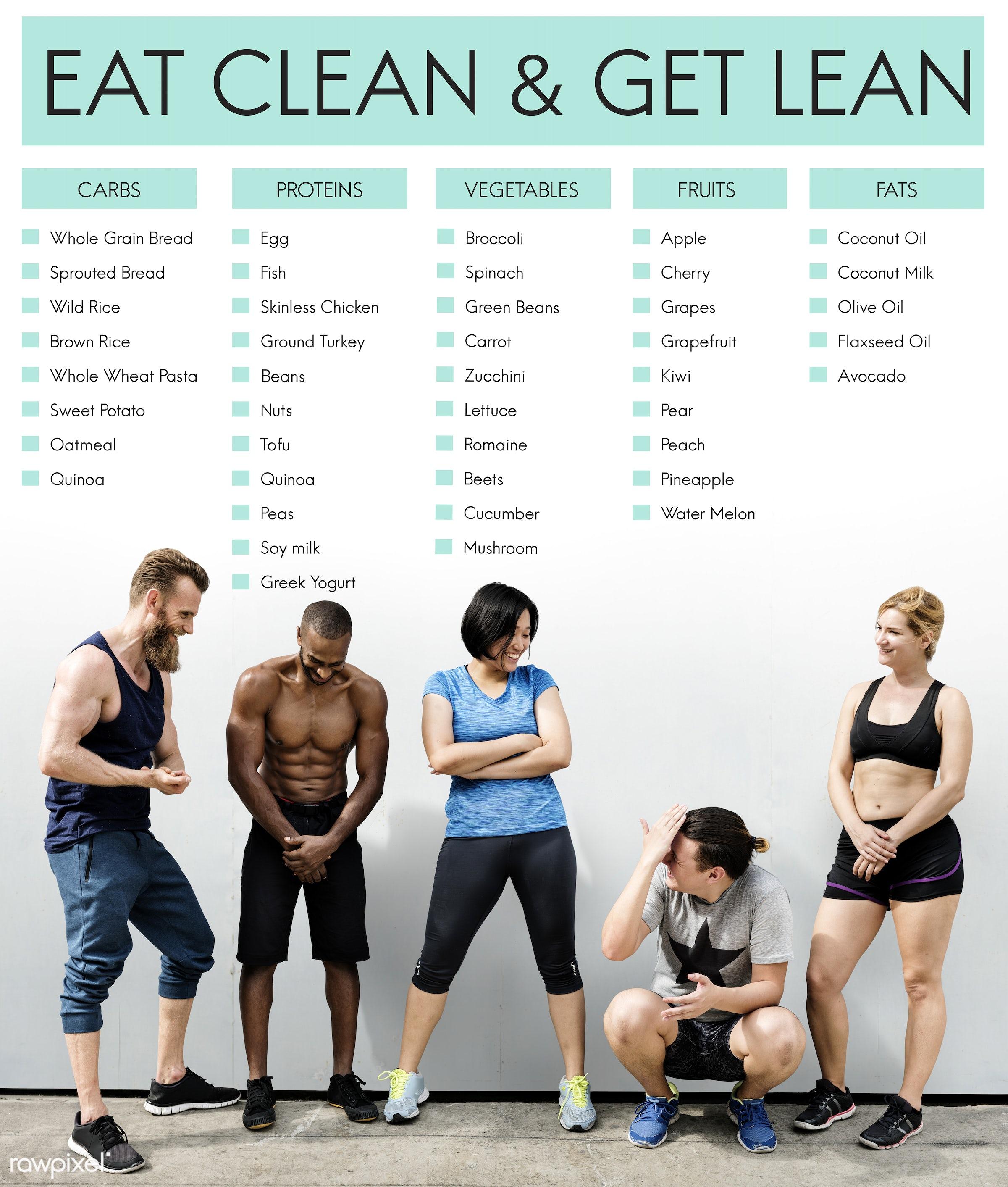 african descent, asian, be fit, caucasian, clean, diet, dietary, diversity, eat, eat clean, enjoy, exercise, female, fit,...