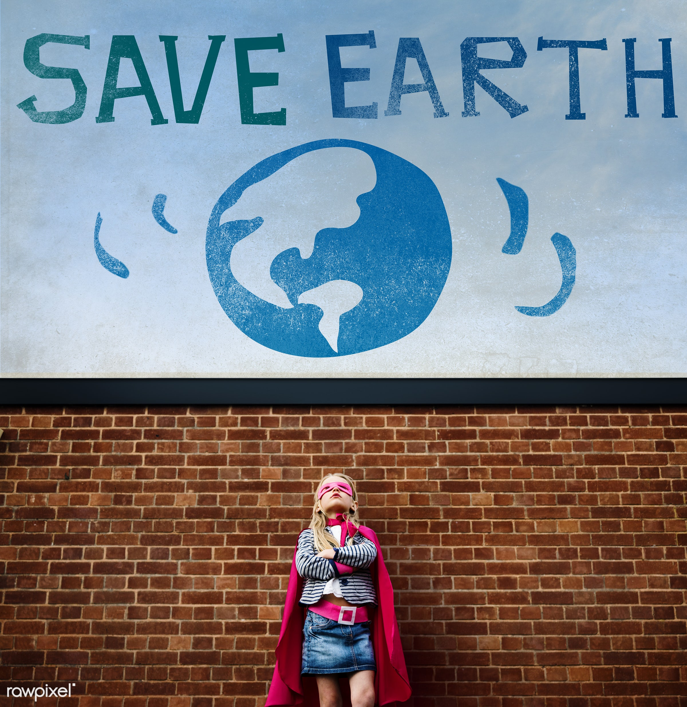 superhero, active, annual event, awareness, child, childhood, concept, costume, dream, dressed up, earth, earth day, ecology...