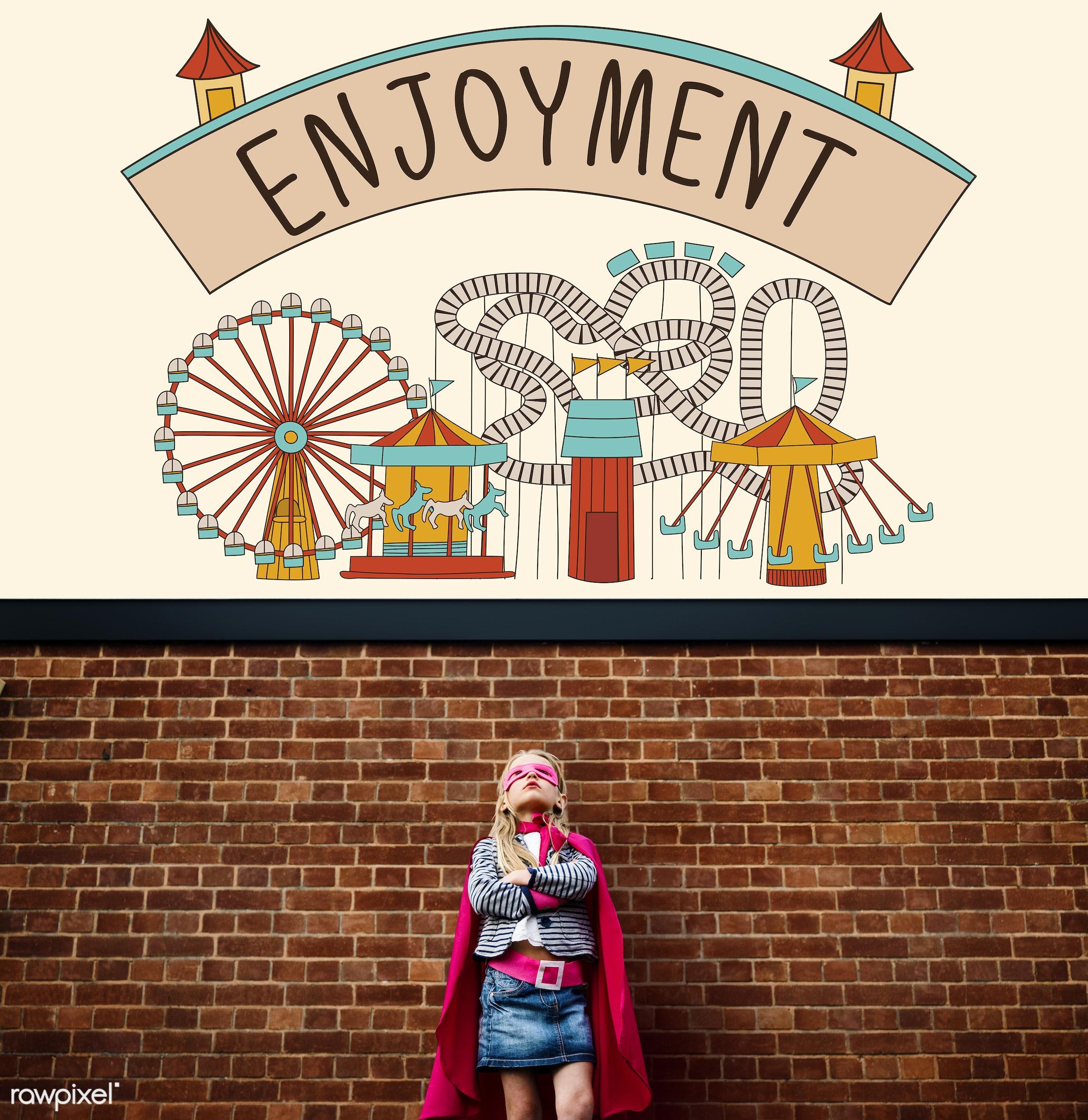 active, amusement, attraction, brave, child, childhood, costume, creative, doodle, dream, dressed up, enjoy, enjoyment,...