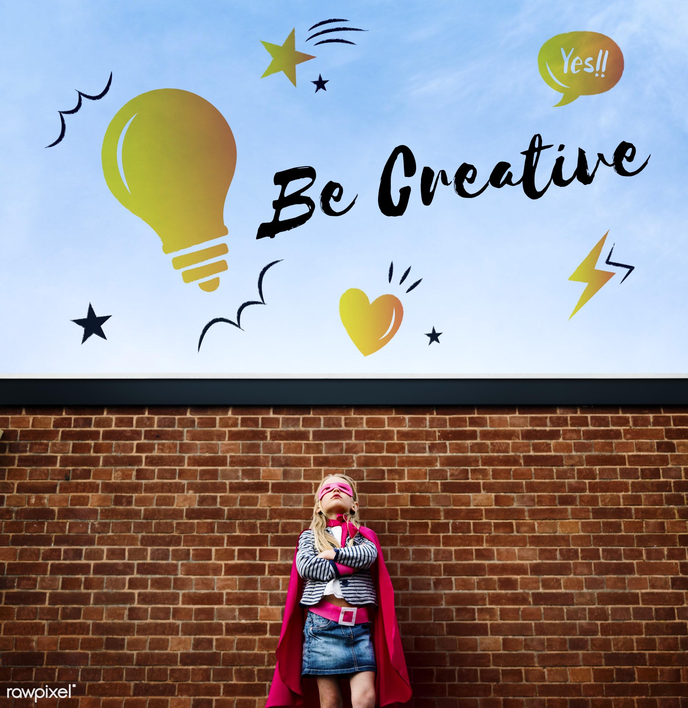 achievement, active, be, brainstorming, brave, child, childhood, costume, creation, creative, creativity, design, dream,...
