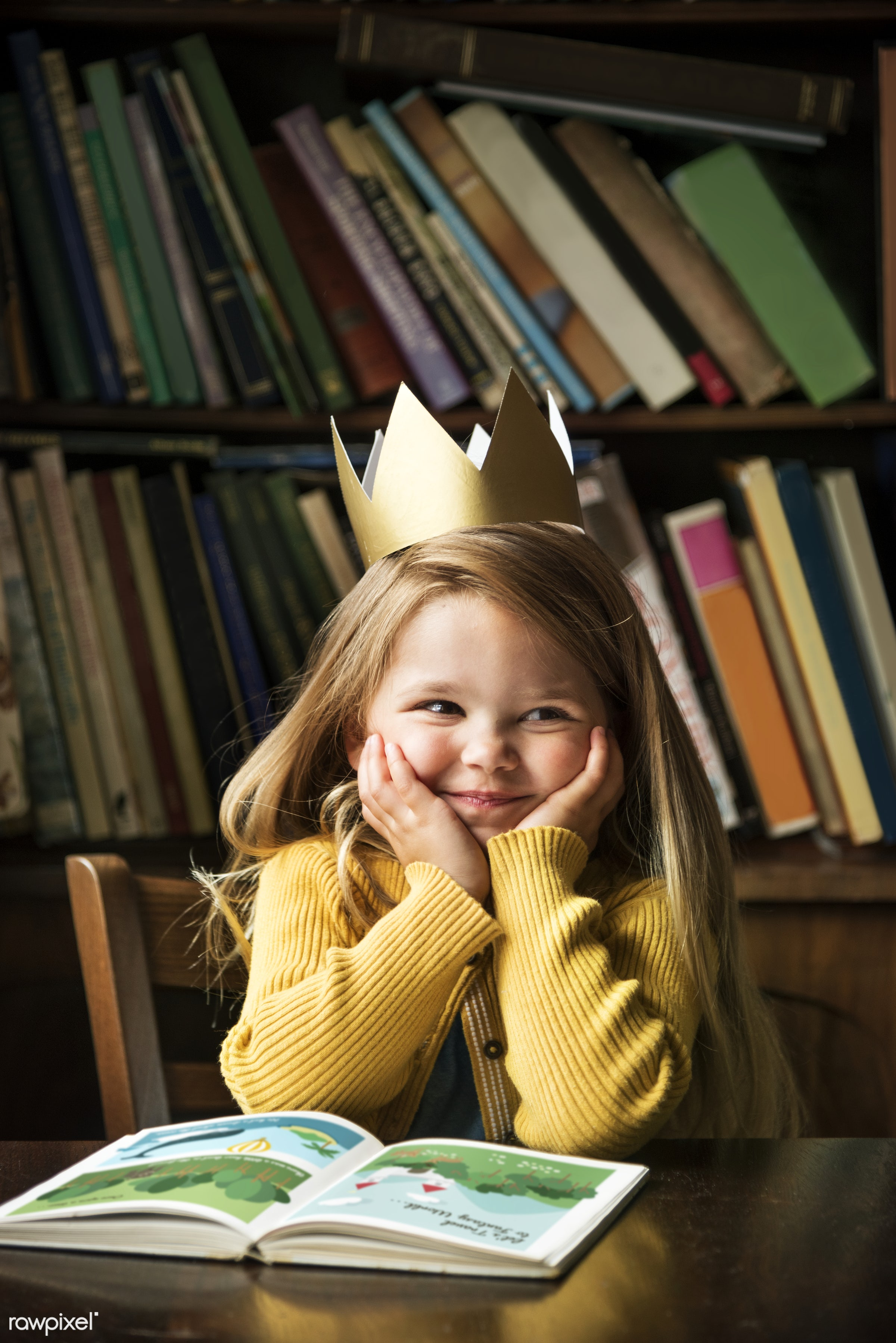art, beautiful, book, bookstore, cape, caucasian, child, childhood, children, class, clever, dress up, education, emotions,...