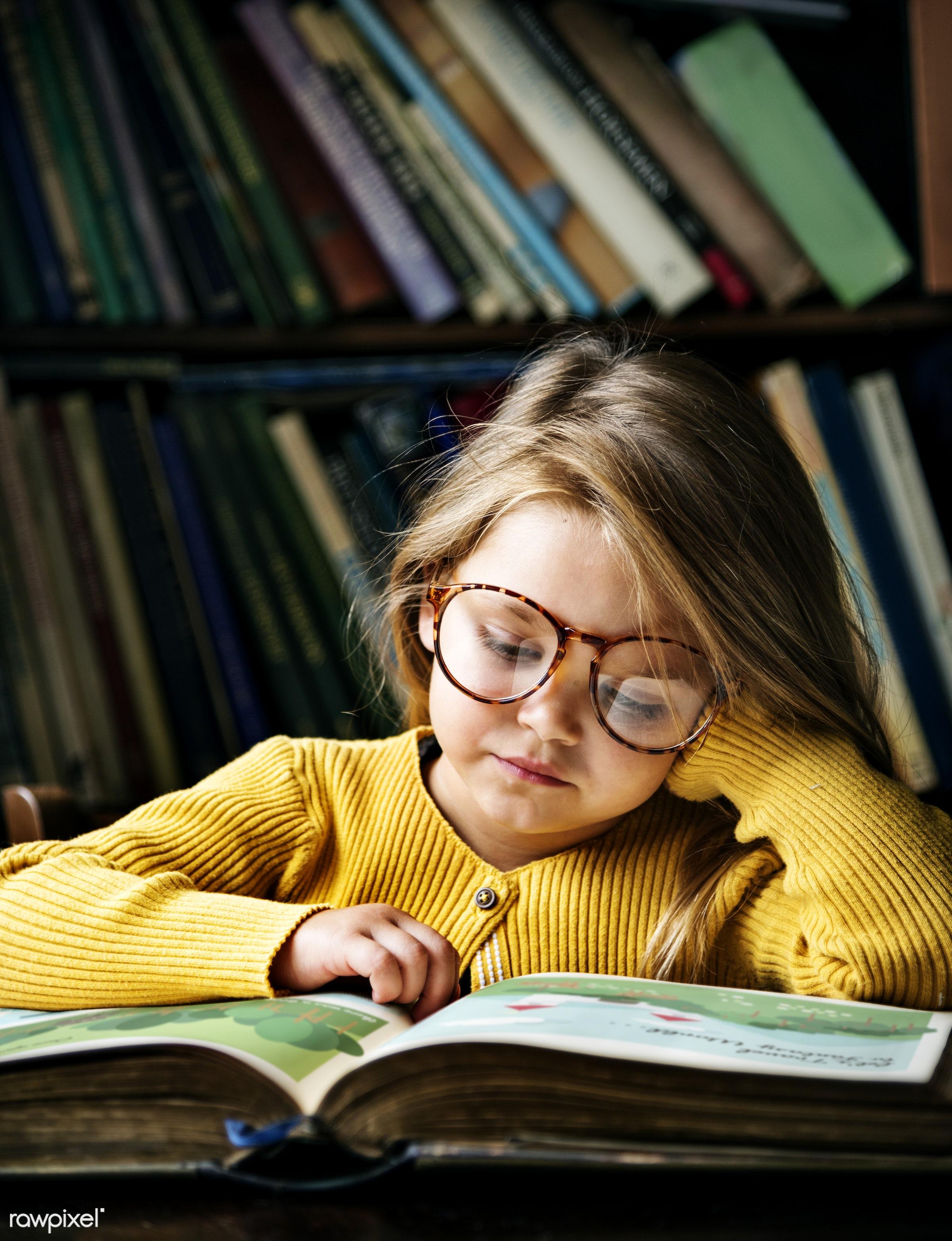 art, beautiful, book, bookstore, cape, caucasian, child, childhood, children, class, clever, dress up, education, emotions,...