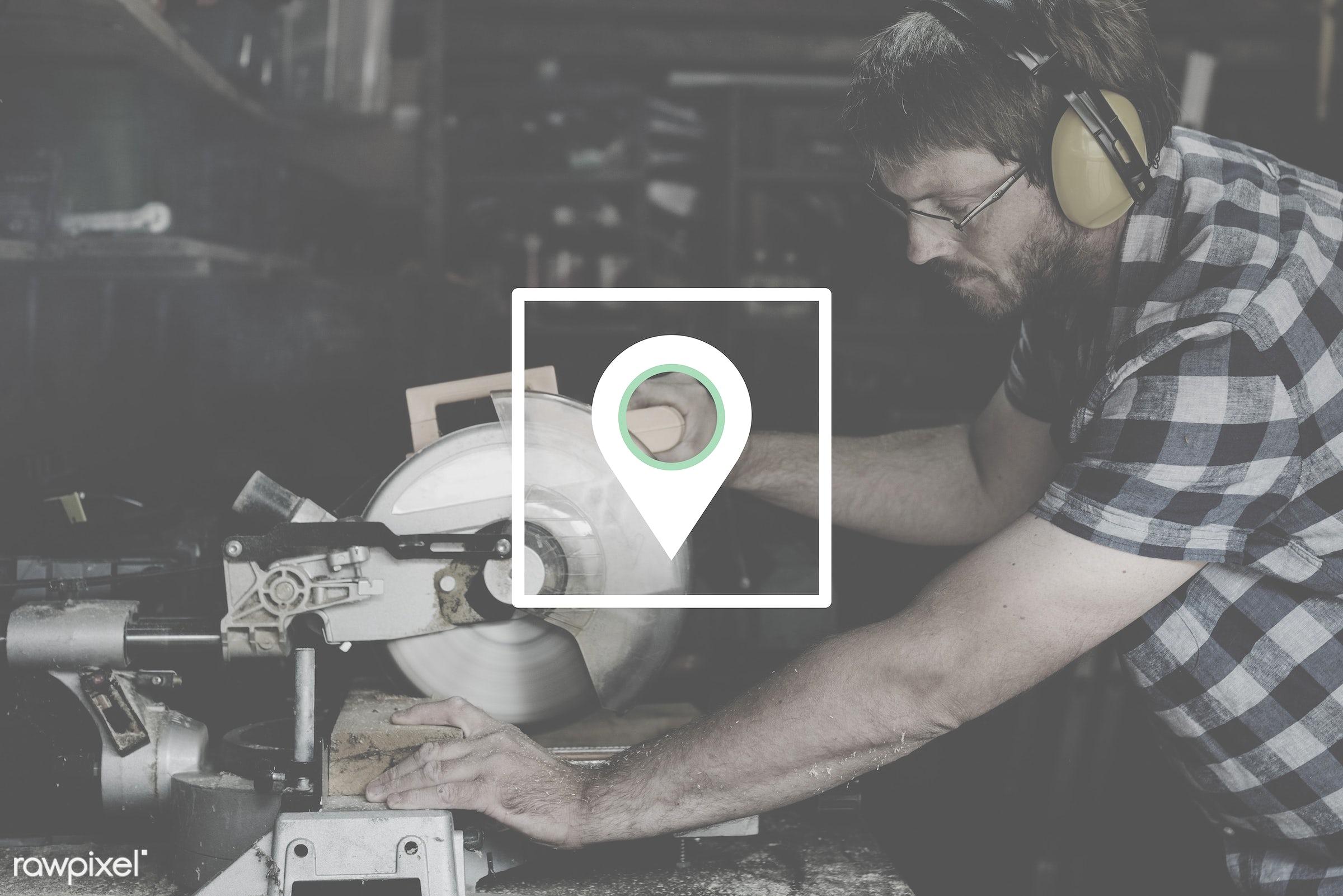 accuracy, badge, banner, blank, carpenter, carpentry, copy space, craft, craftsman, destination, direction, distance,...