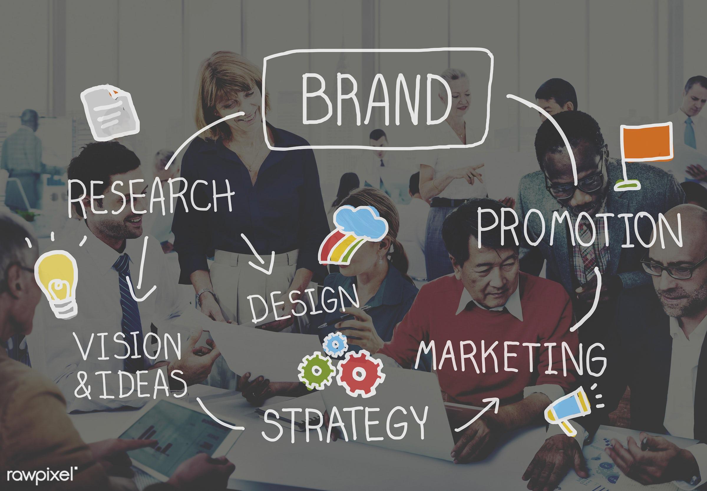 brand, sign, value, advertising, african descent, asian ethnicity, badge, banner, brainstorming, brand name, branding,...