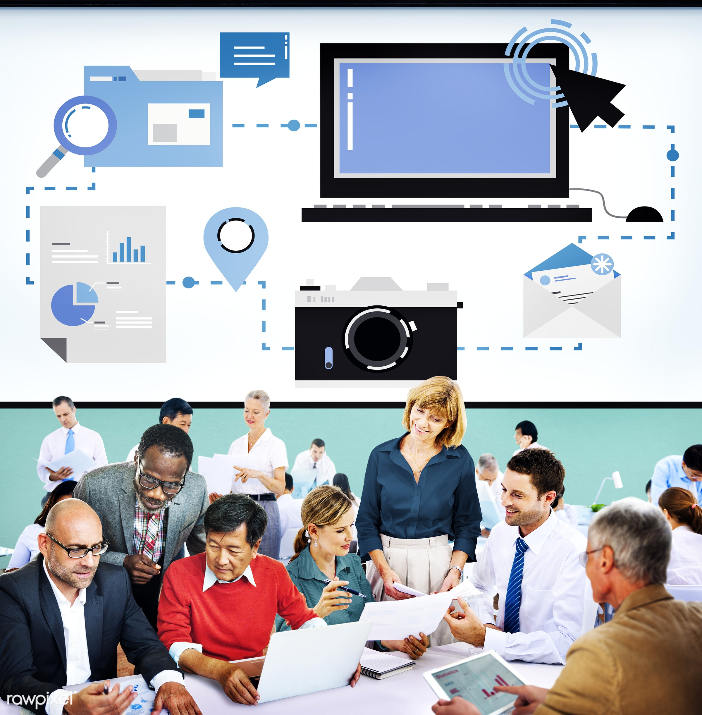 analysis, business, business people, businessmen, businesswomen, busy, communication, computer, connect, connection,...