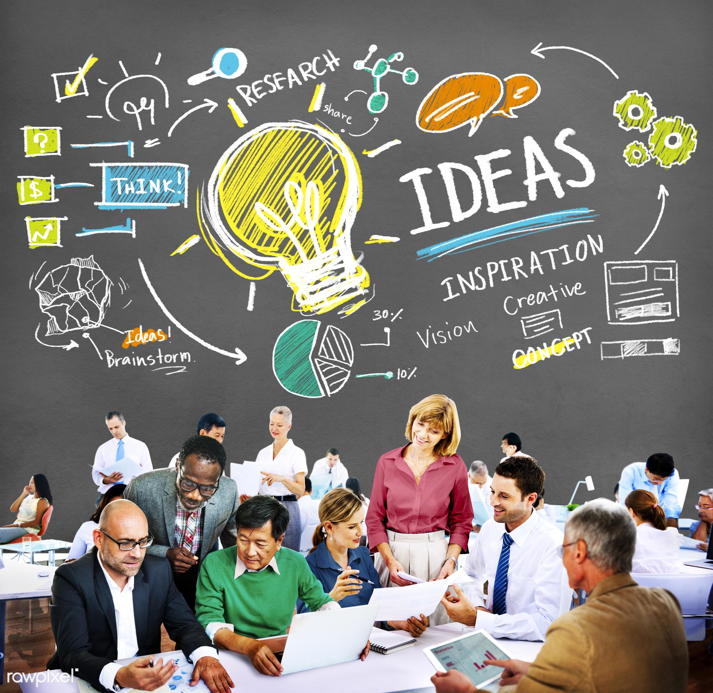analysis, brainstorm, business, business people, businessmen, businesswomen, busy, communication, concept, conversation,...
