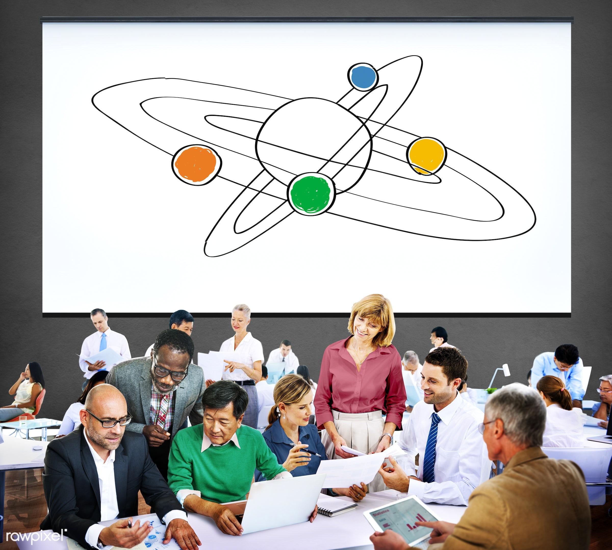 analysis, boss, business, business people, businessmen, businesswomen, busy, center, central, communication, conversation,...