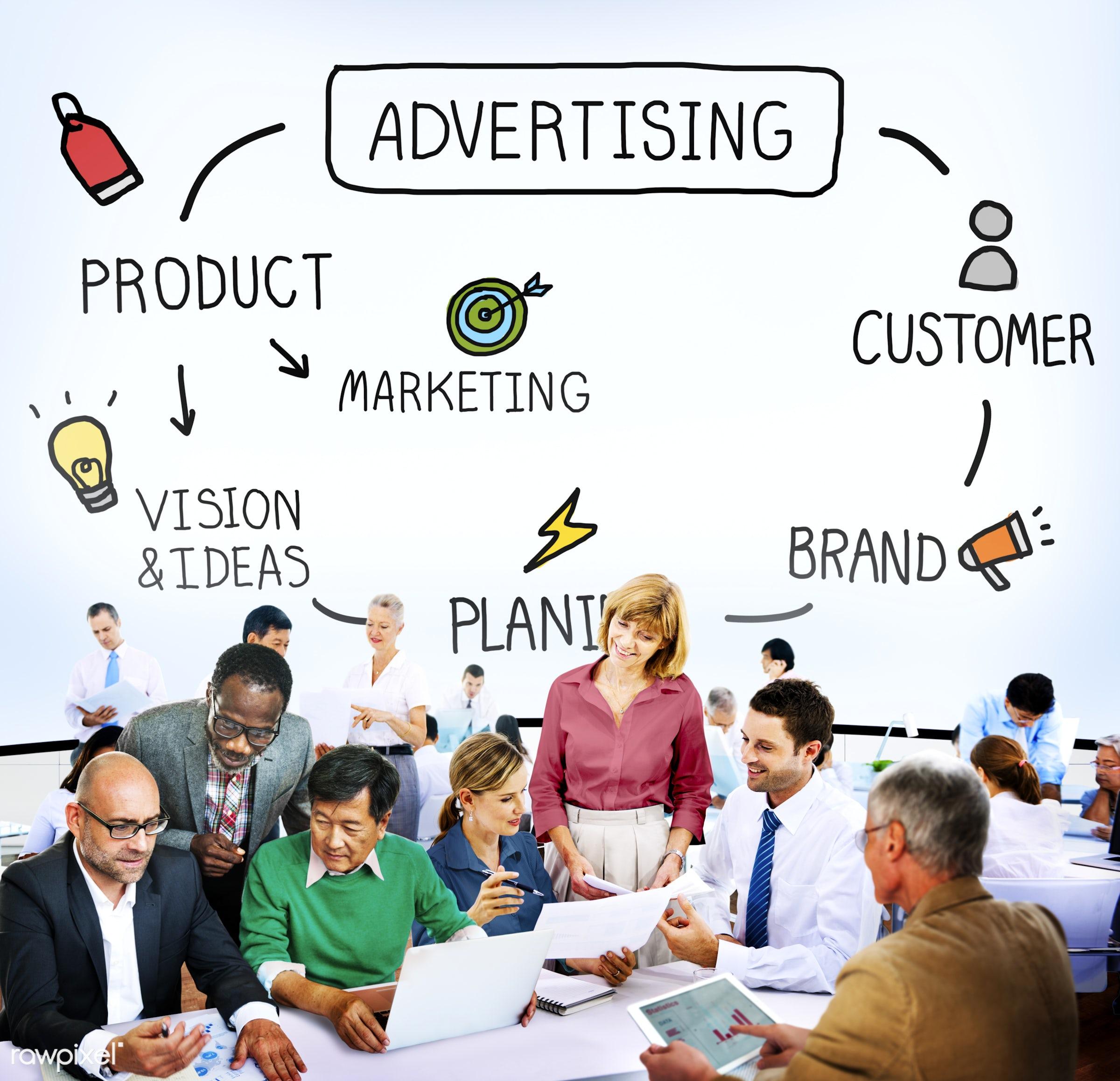 advertise, advertisement, advertising, analysis, brand, branding, business, business people, businessmen, businesswomen,...