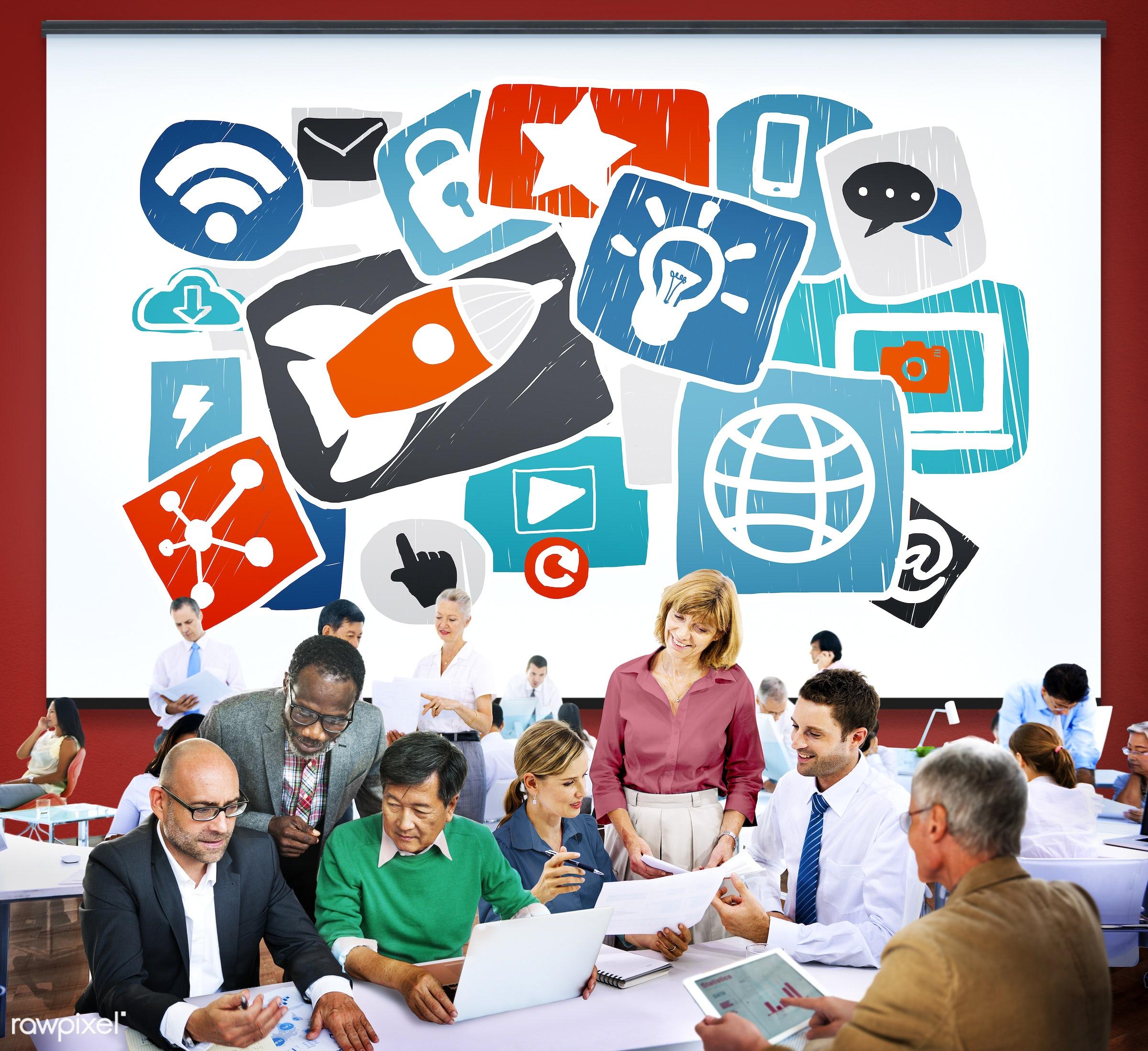 analysis, aspirations, business, business people, businessmen, businesswomen, busy, communication, conversation, corporate,...