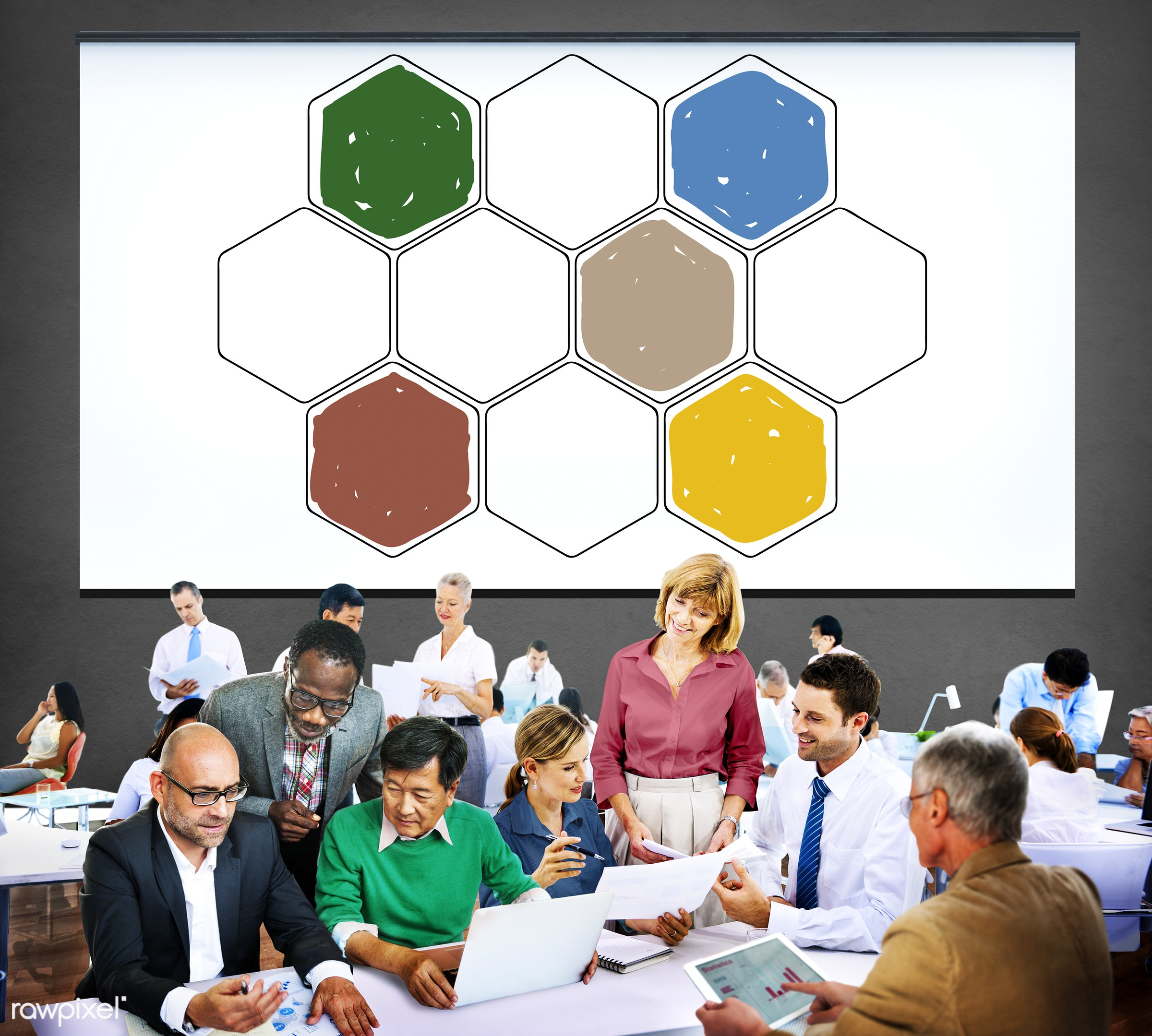 analysis, bee, beeswax, business, business people, businessmen, businesswomen, busy, comb, communication, community,...