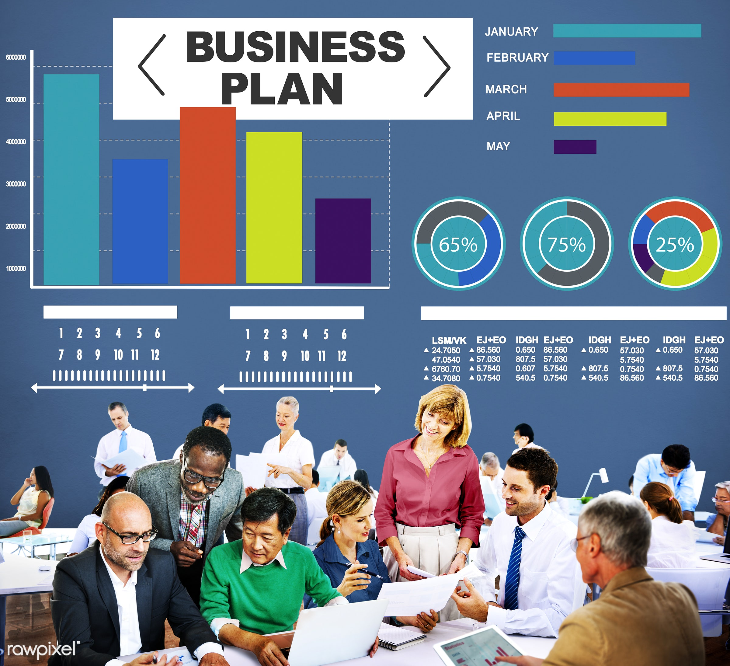 analysis, bar graph, brainstorming, business, business people, businessmen, businesswomen, busy, chart, communication,...