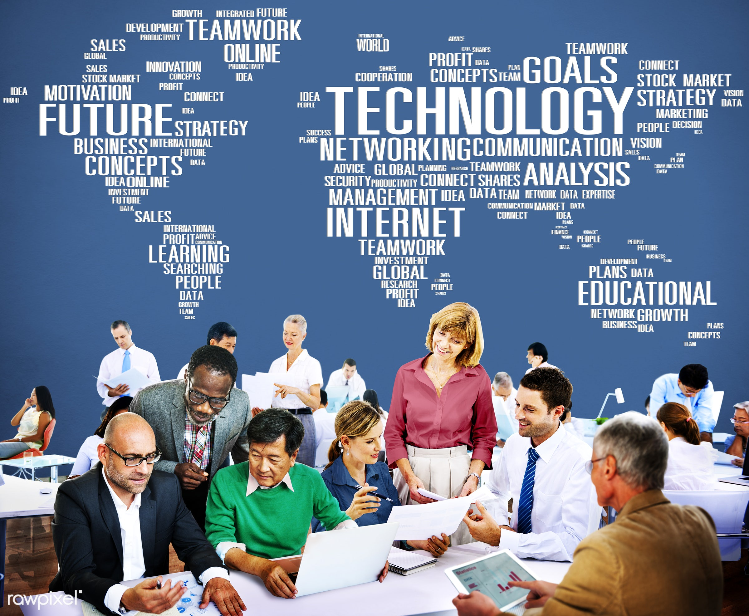 advanced technology, analysis, business, business people, businessmen, businesswomen, busy, cartography, communication,...