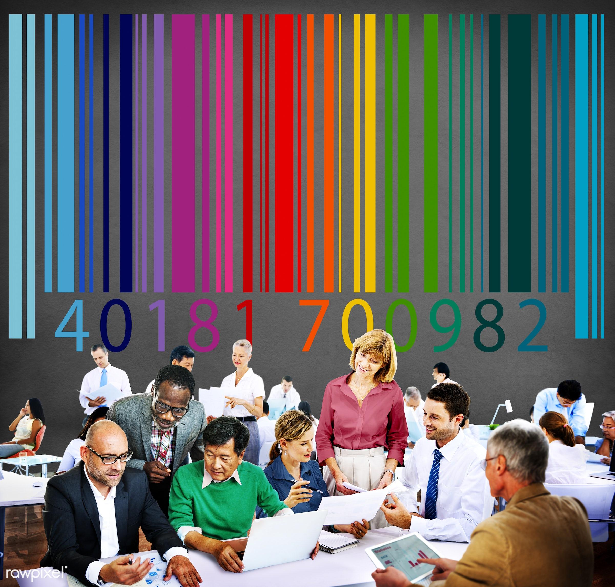 analysis, badge, bar code, bar code reader, business, business people, businessmen, businesswomen, busy, buy, coding,...